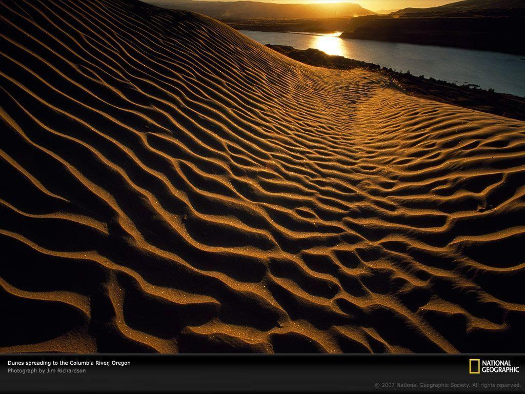 The Dalles, Oregon, Sand Dunes, Photo of the Day, Picture