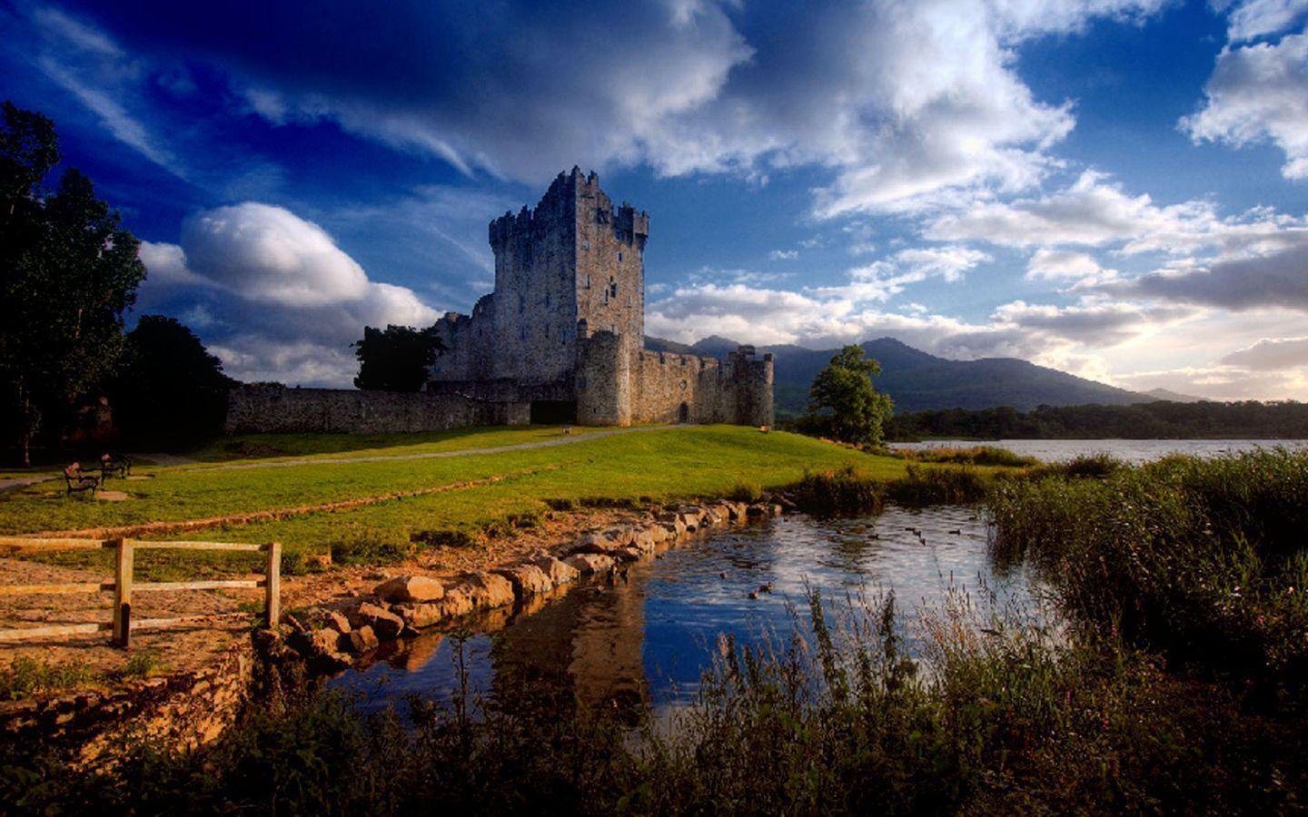 Ireland Wallpapers : Ross Castle Ireland Killarney Travel