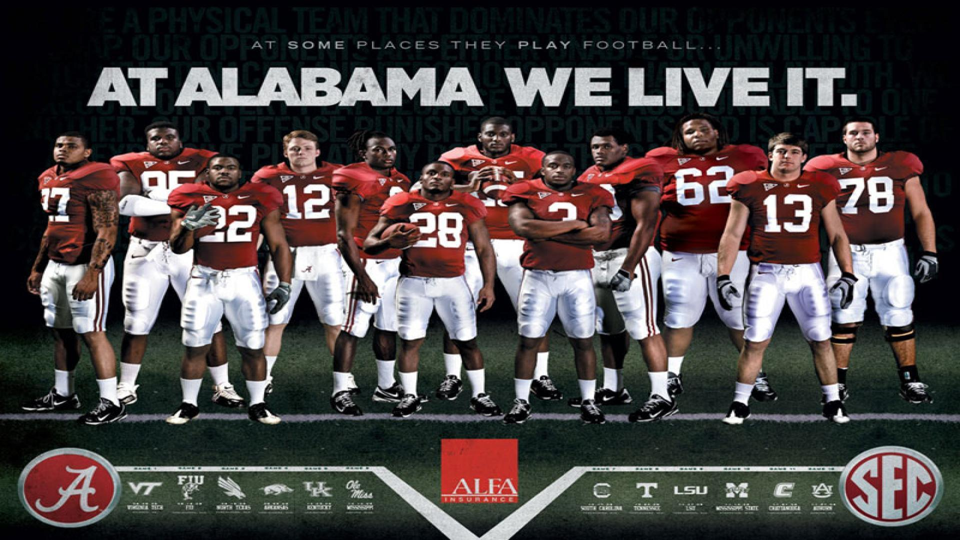 Awesome Free Alabama Crimson Tide Wallpapers Panda 1440x900PX