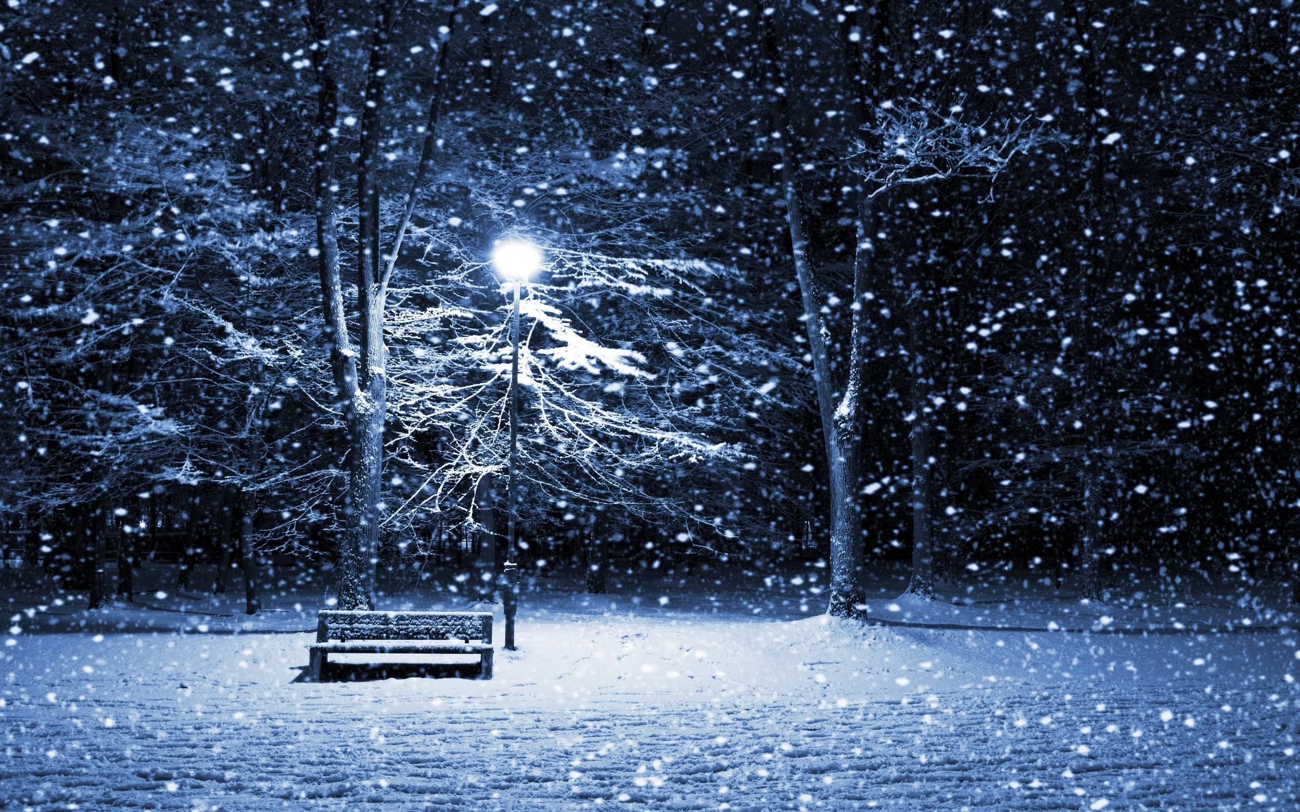 Snow Bench Wallpaper - Nexus Wallpaper