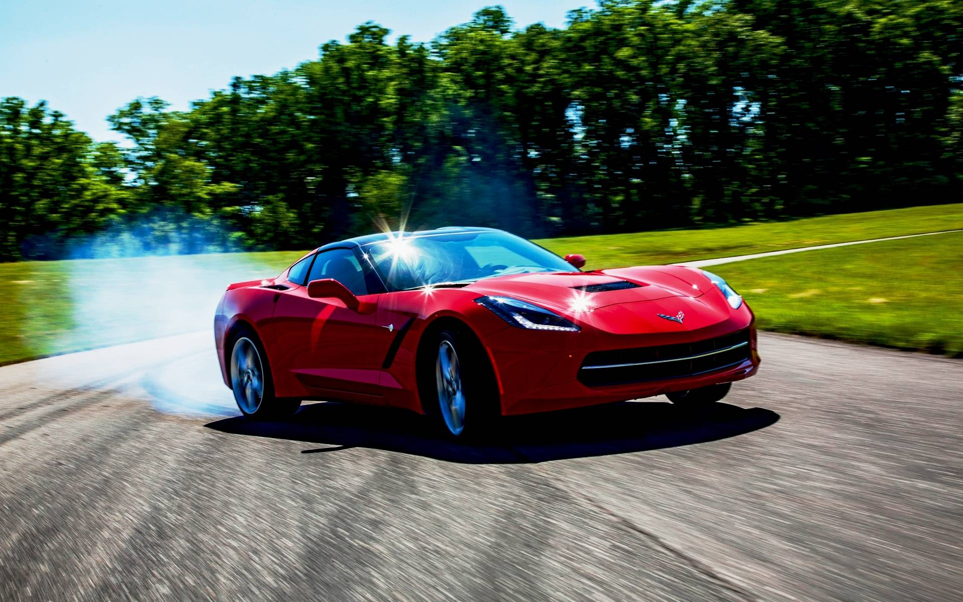 Corvette Stingray 2015 Wallpapers HD