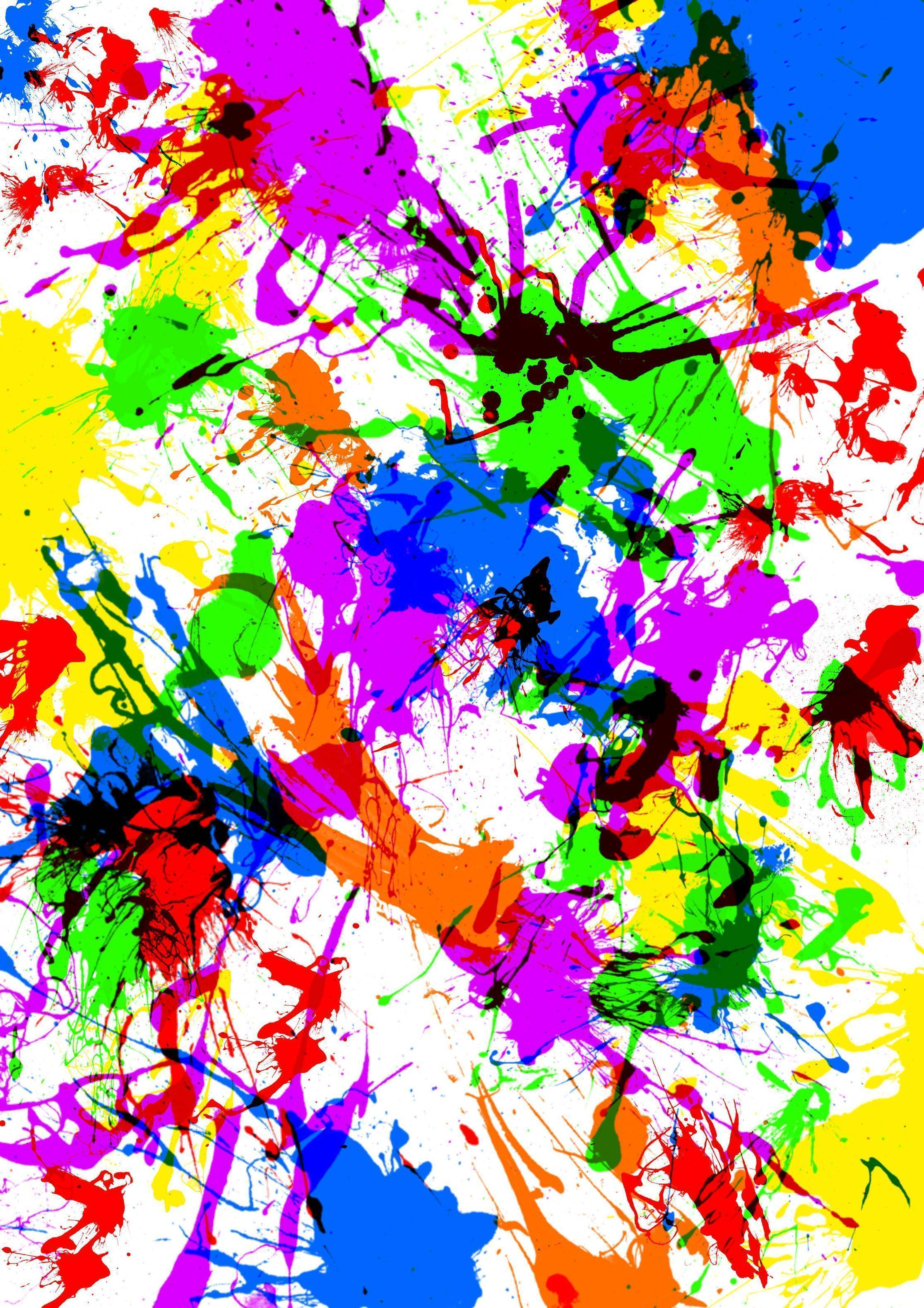 Paint Splat Wallpapers - Wallpaper Cave