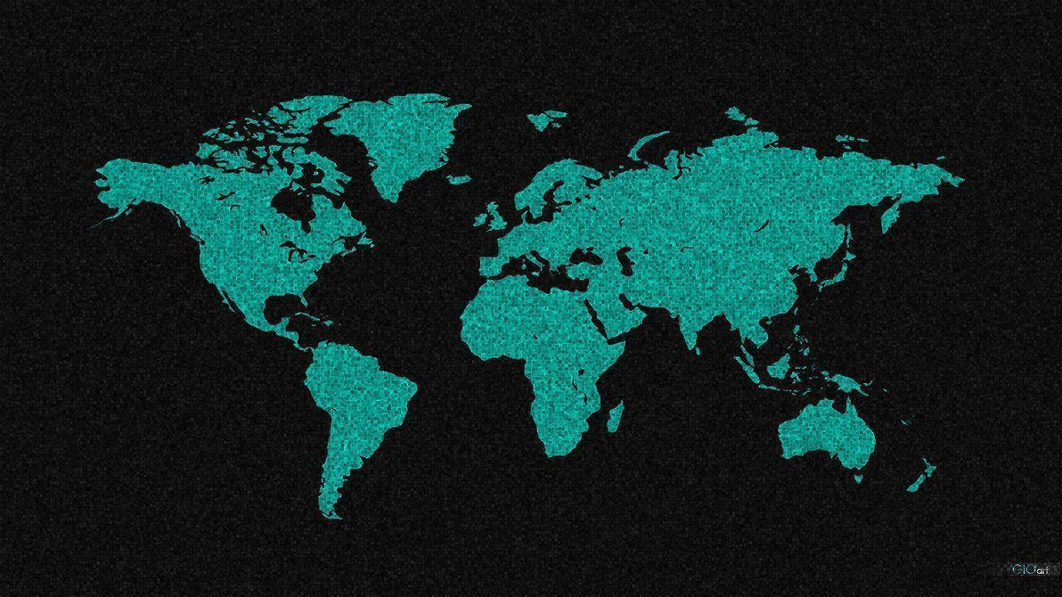 World map desktop wallpapers wallpaper cave images for cool world map desktop background gumiabroncs Images