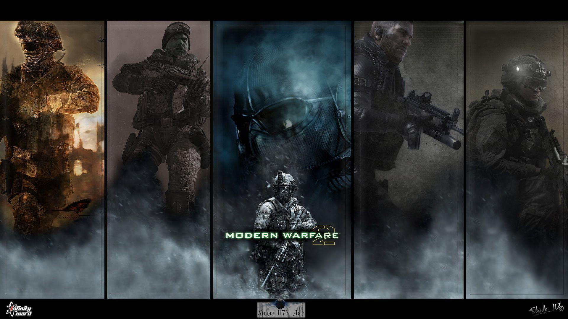 call of duty modern warfare 2 ghost wallpaper