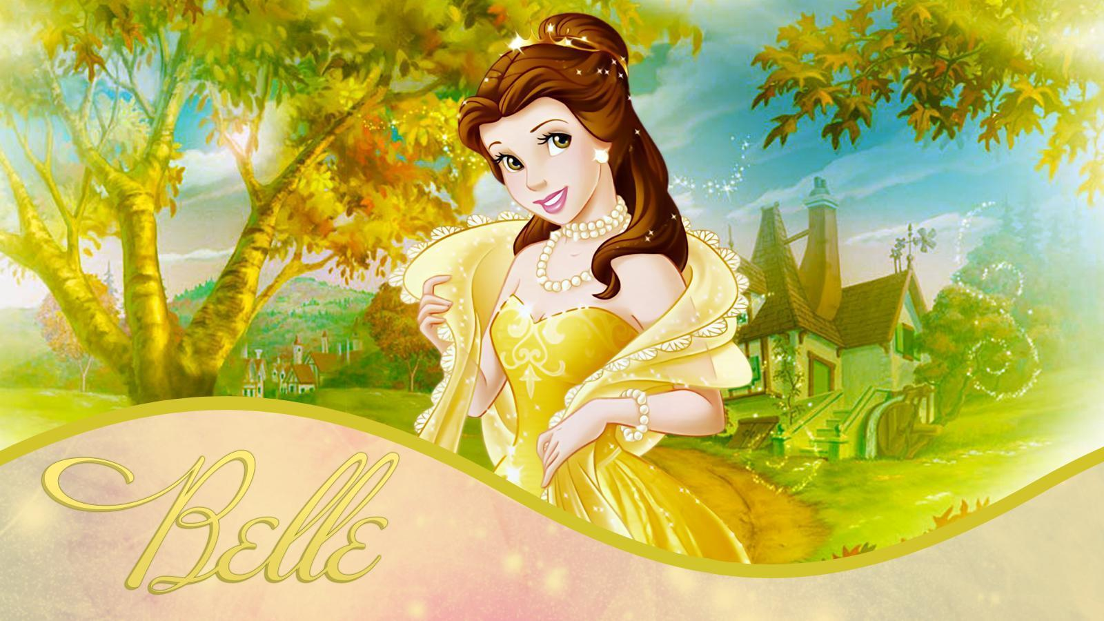 Princess Belle Wallpapers Wallpaper Cave