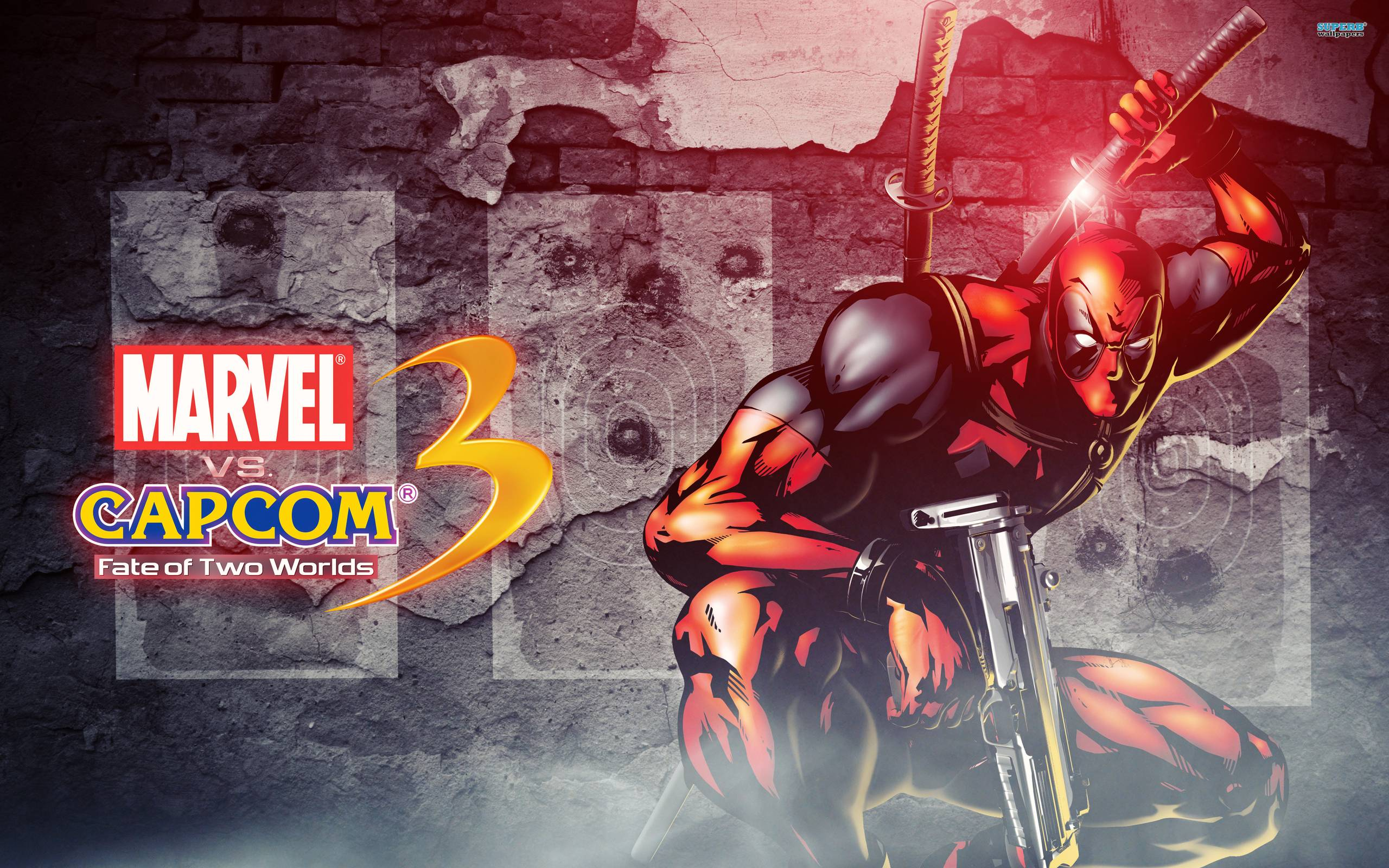 Marvel vs. Capcom Deadpool wallpapers