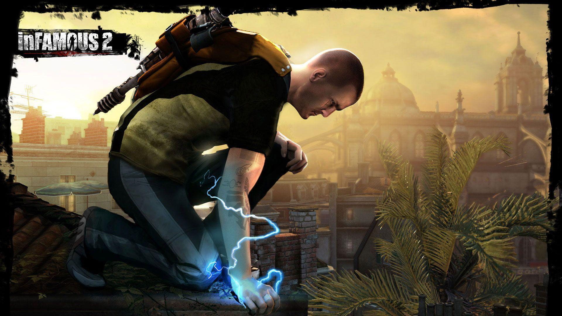 Infamous 2 Wallpapers Hd wallpapers