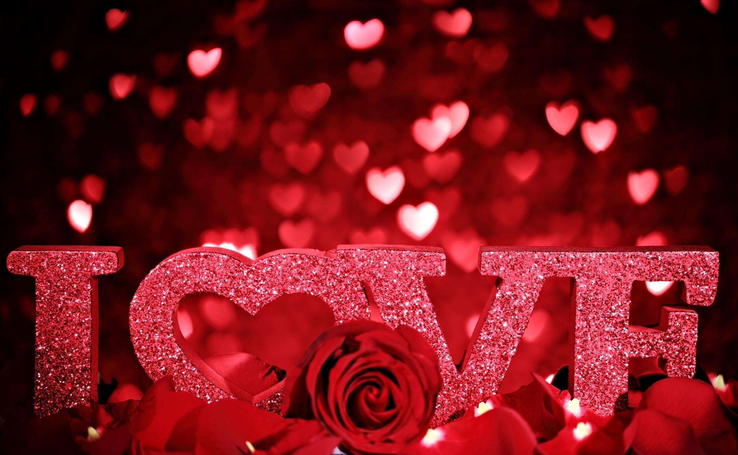 Valentines Day Love Wallpaper - Dazzling Wallpaper