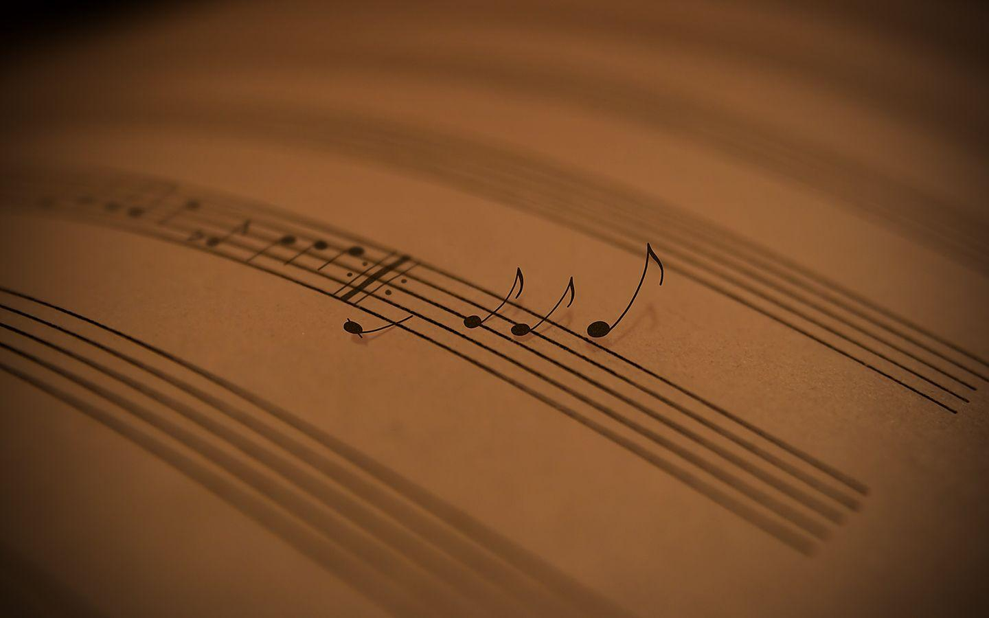 sheet music 2 wallpaper - photo #2