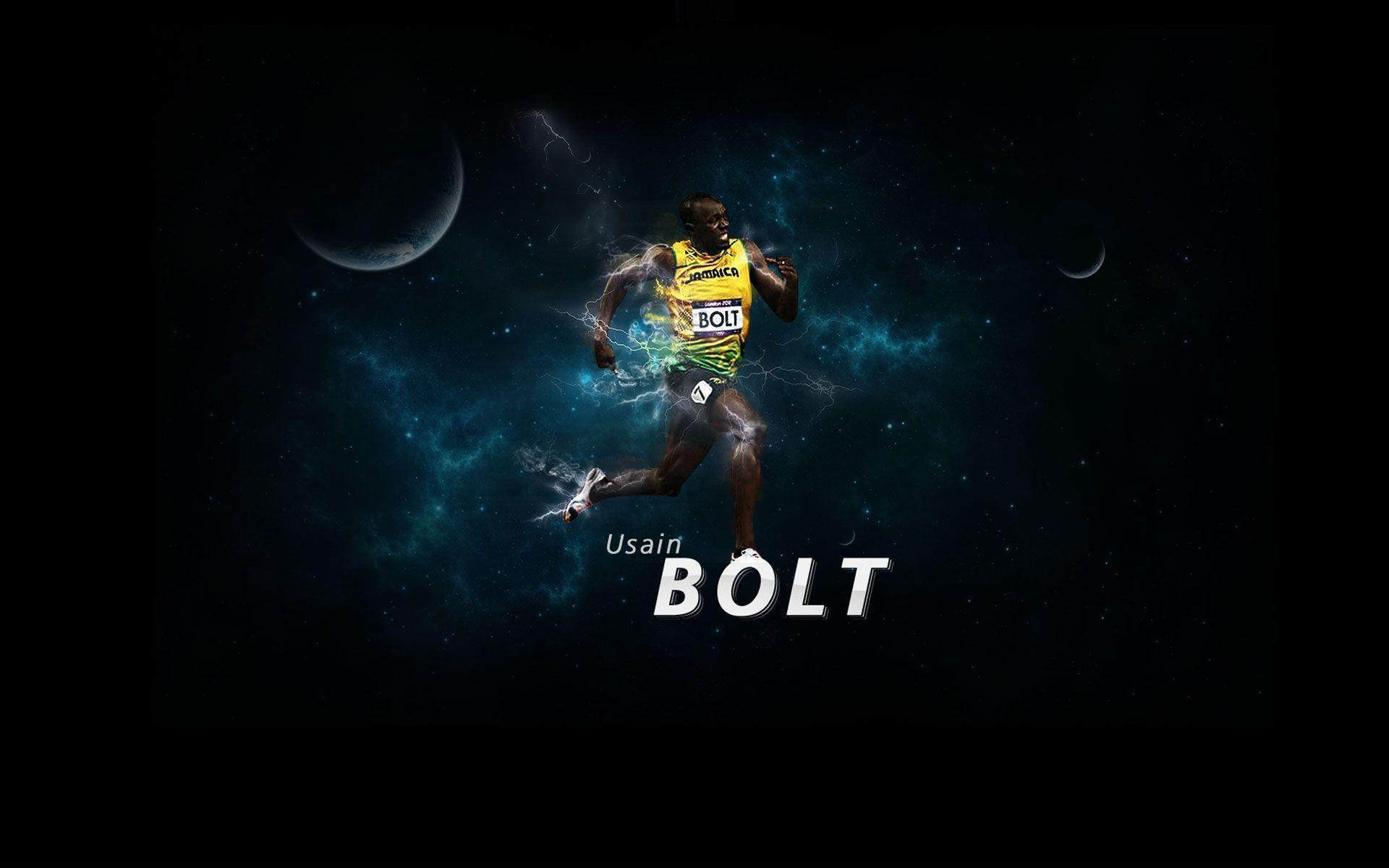 Usain Bolt runs like Puma wallpapers and images - wallpapers ...