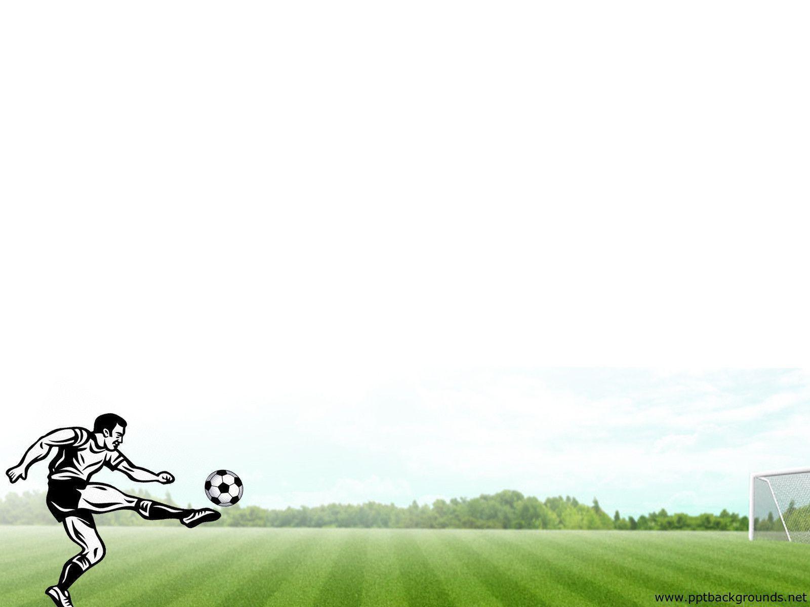 Football (Soccer Ball) PowerPoint Template