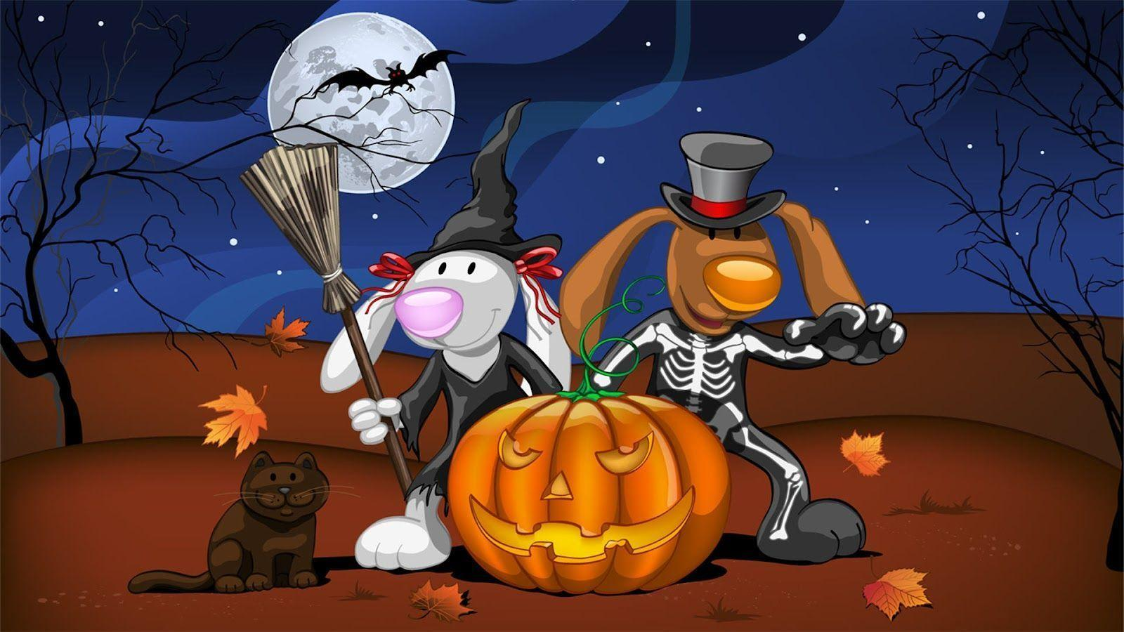 Funny Halloween Wallpapers #28675 Hd Wallpapers Background ...