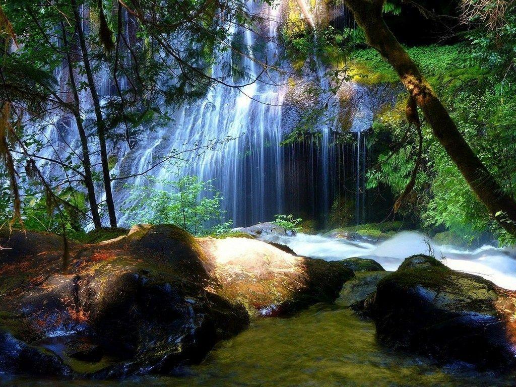 Beautiful Landscape Waterfall Free Wallpapers Wallpapers