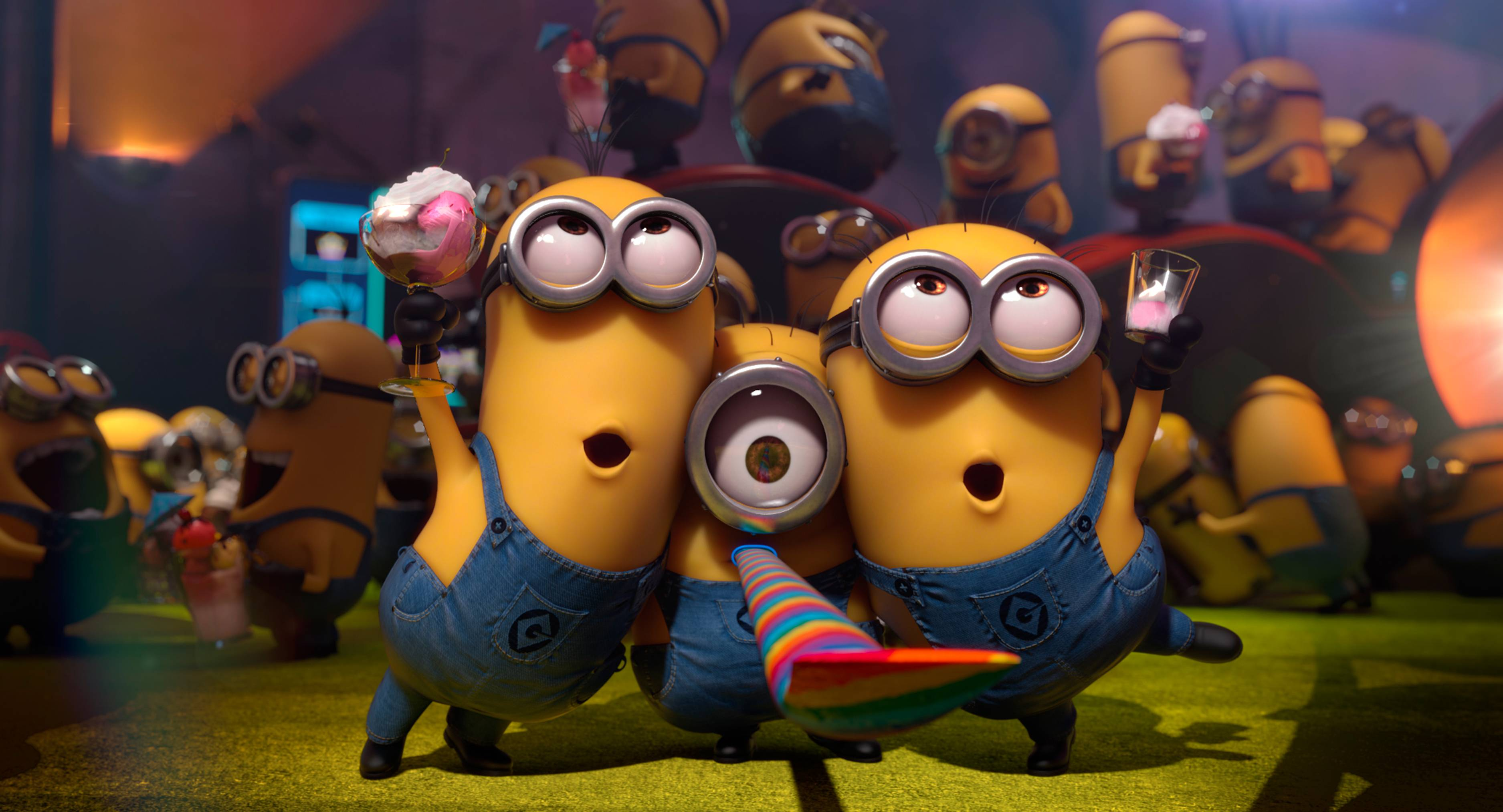 Minions Despicable Me 2 Wide HD Wallpapers 2013