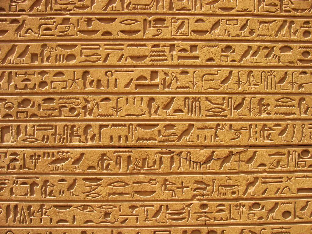 Pix For Egyptian Hieroglyphics Wallpaper