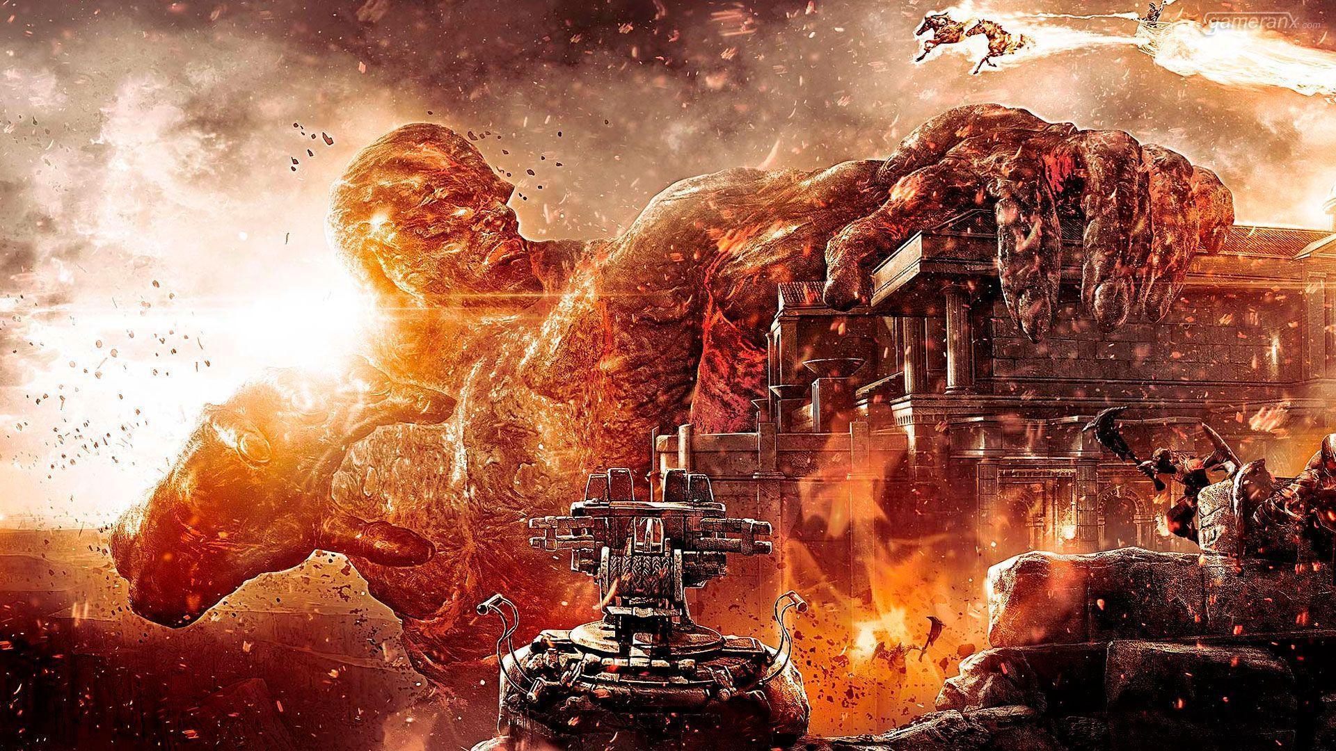 God of War III High-Def Wallpapers