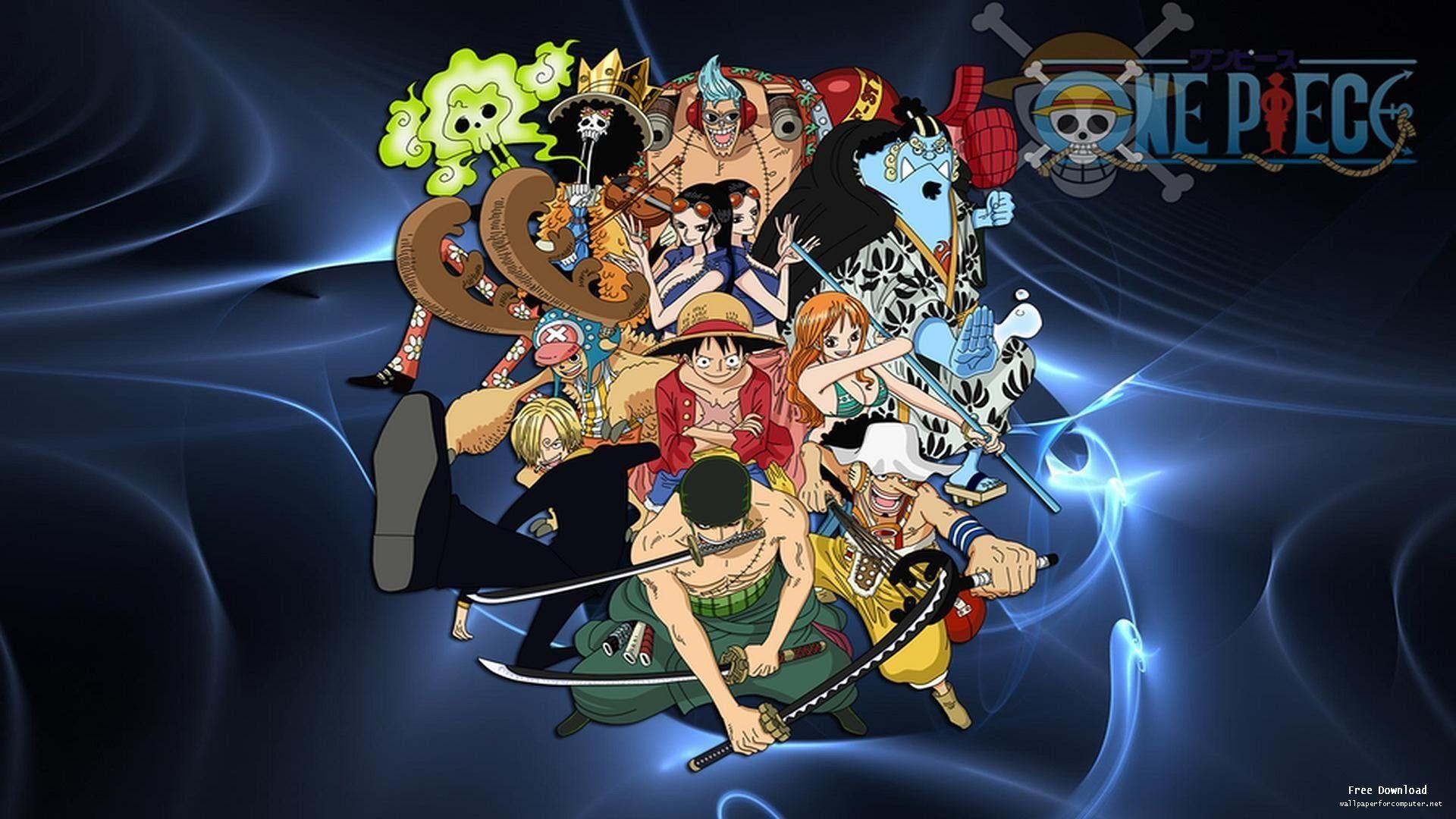 Wallpapers For > One Piece Crew Wallpapers New World