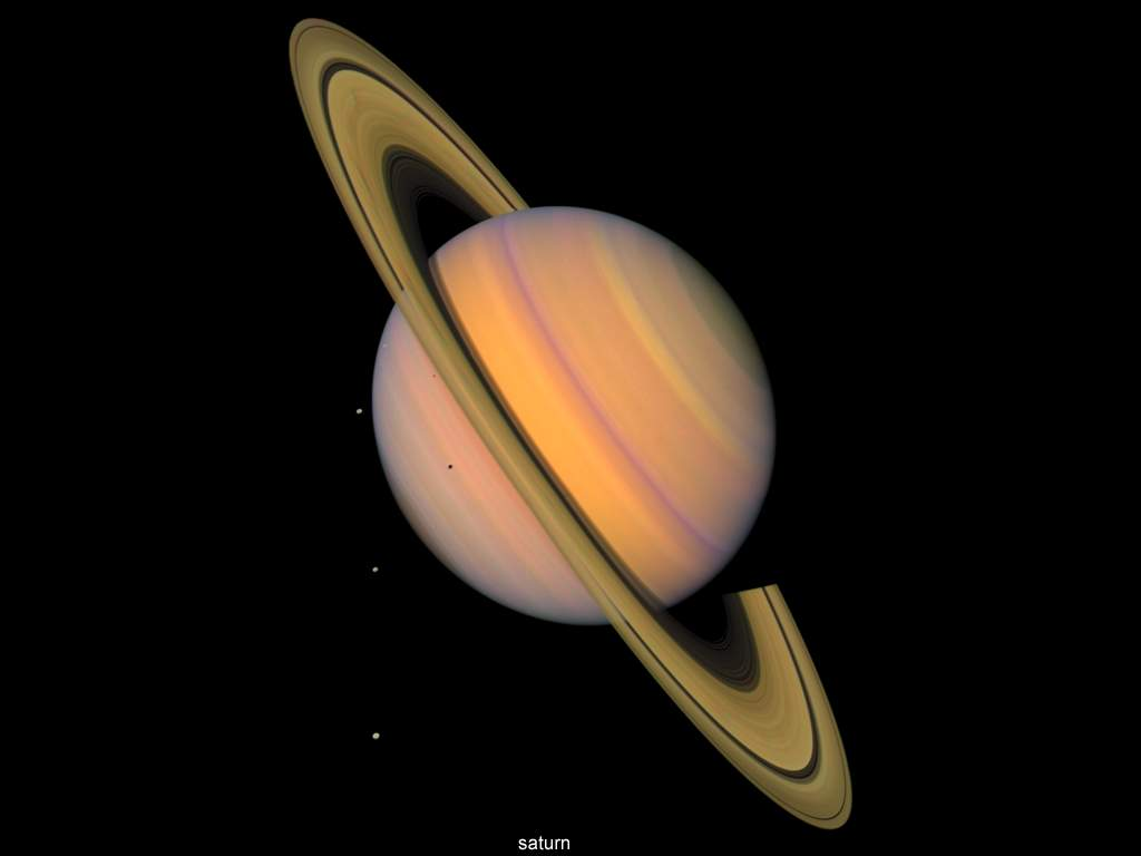 Vehicles For Saturn Planet Wallpaper