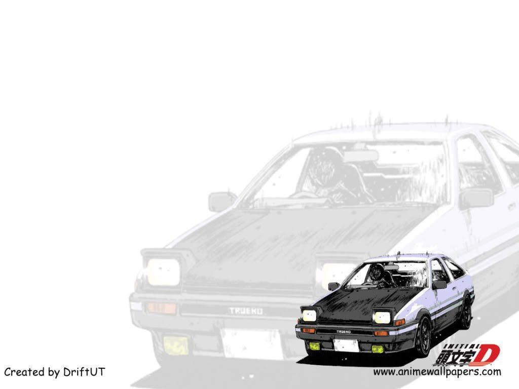 Initial D is now on Anime Wallpapers Site check it...