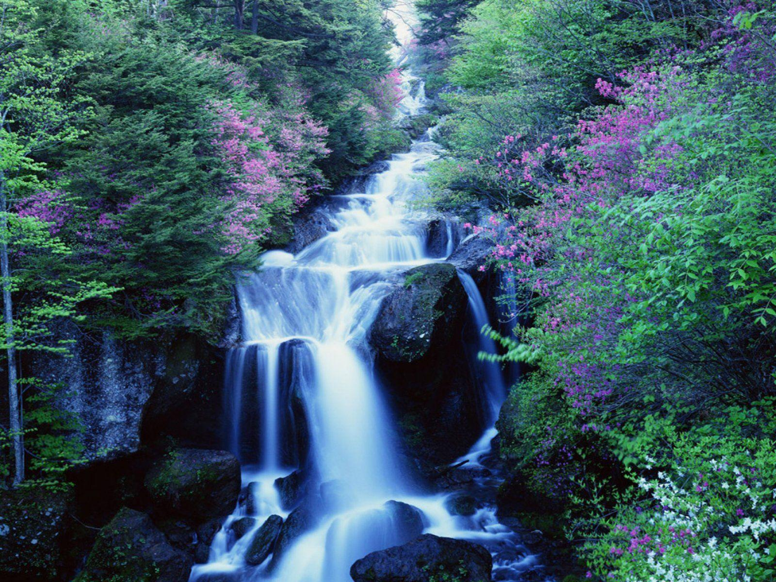 Waterfall Desktop Backgrounds
