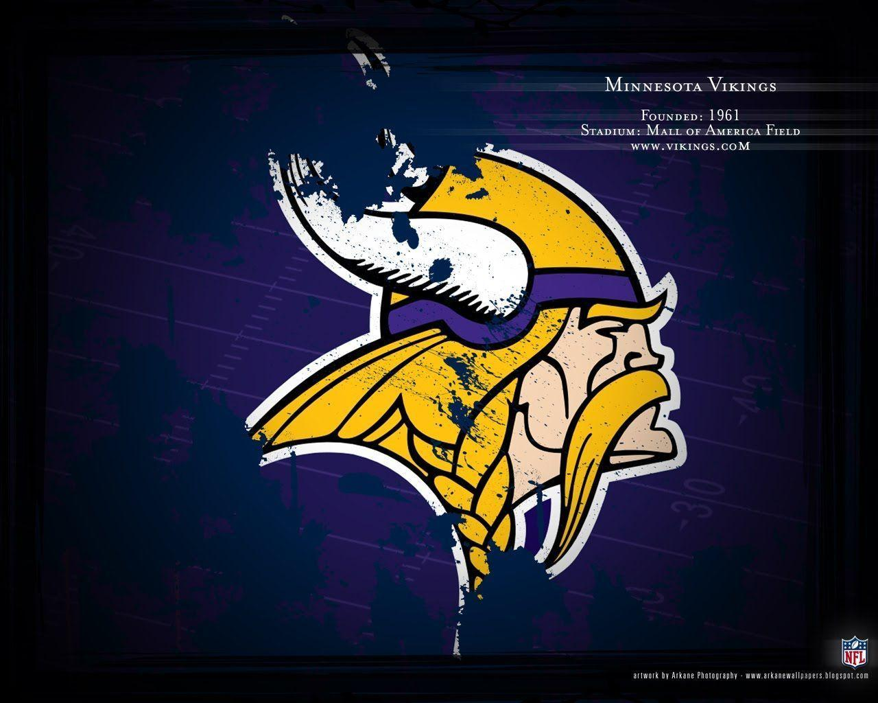 Minnesota Vikings Logo Profile Wallpapers