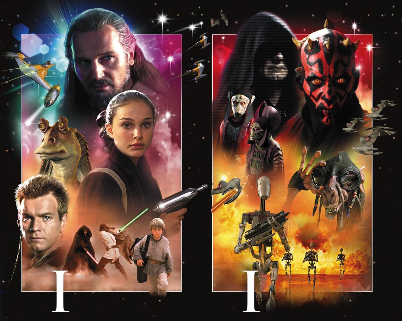 Star Wars Episode 1 Rollen