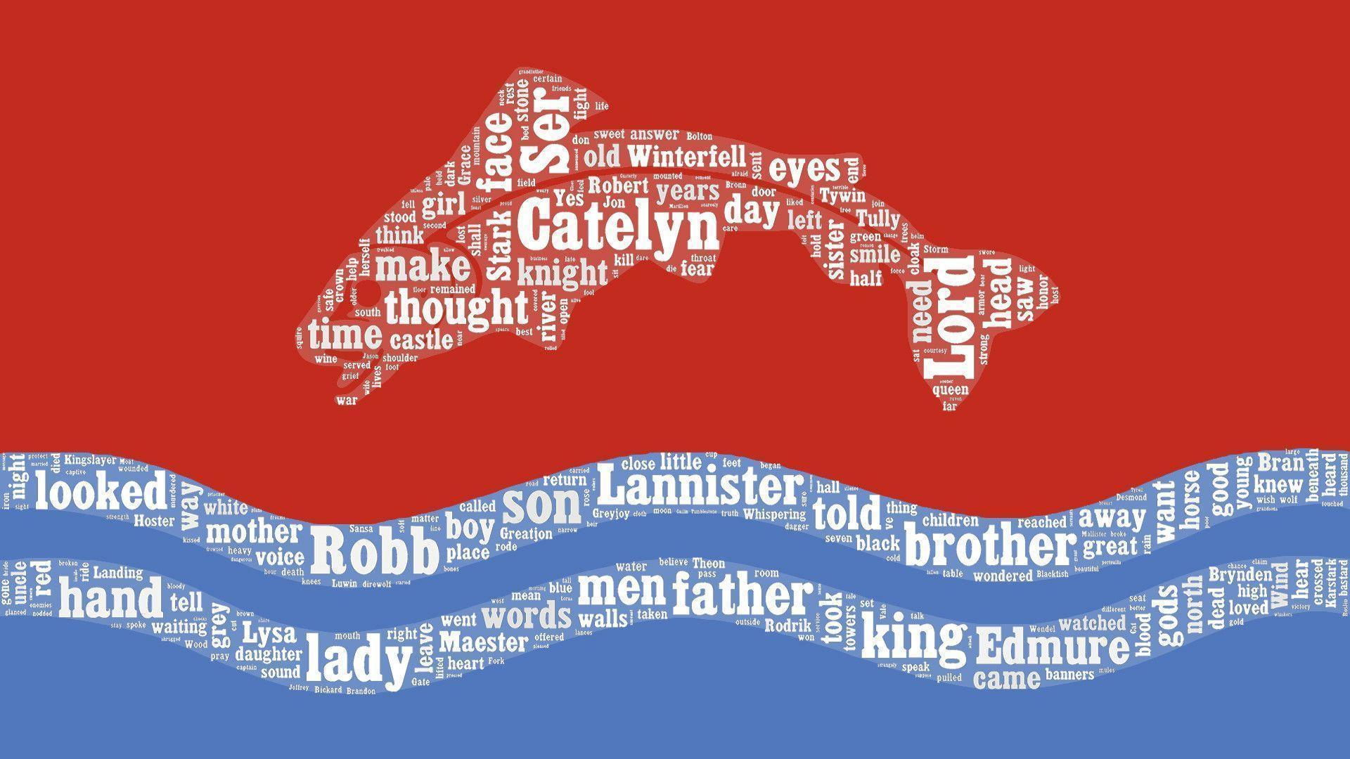 ASOIAF Word Cloud