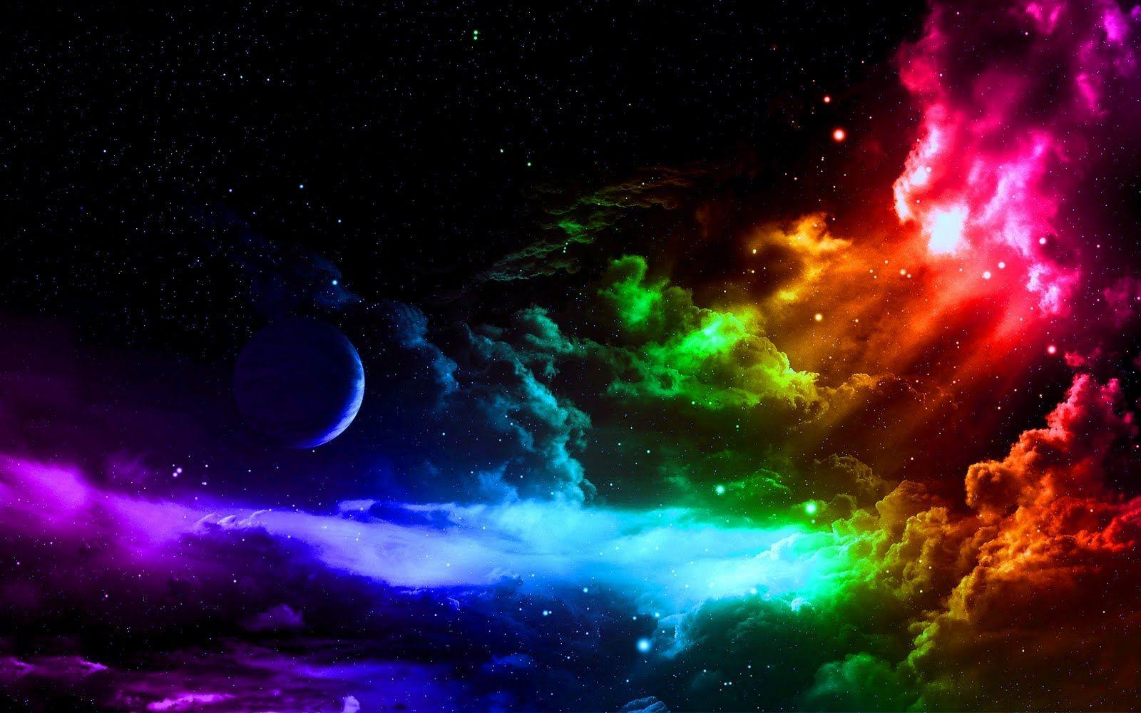 Pix For > Awesome Rainbow Wallpapers