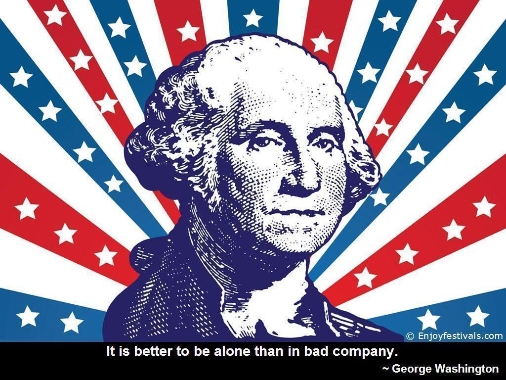 Washington's Birthday – USA President's Day – Quotes & Sayings ...