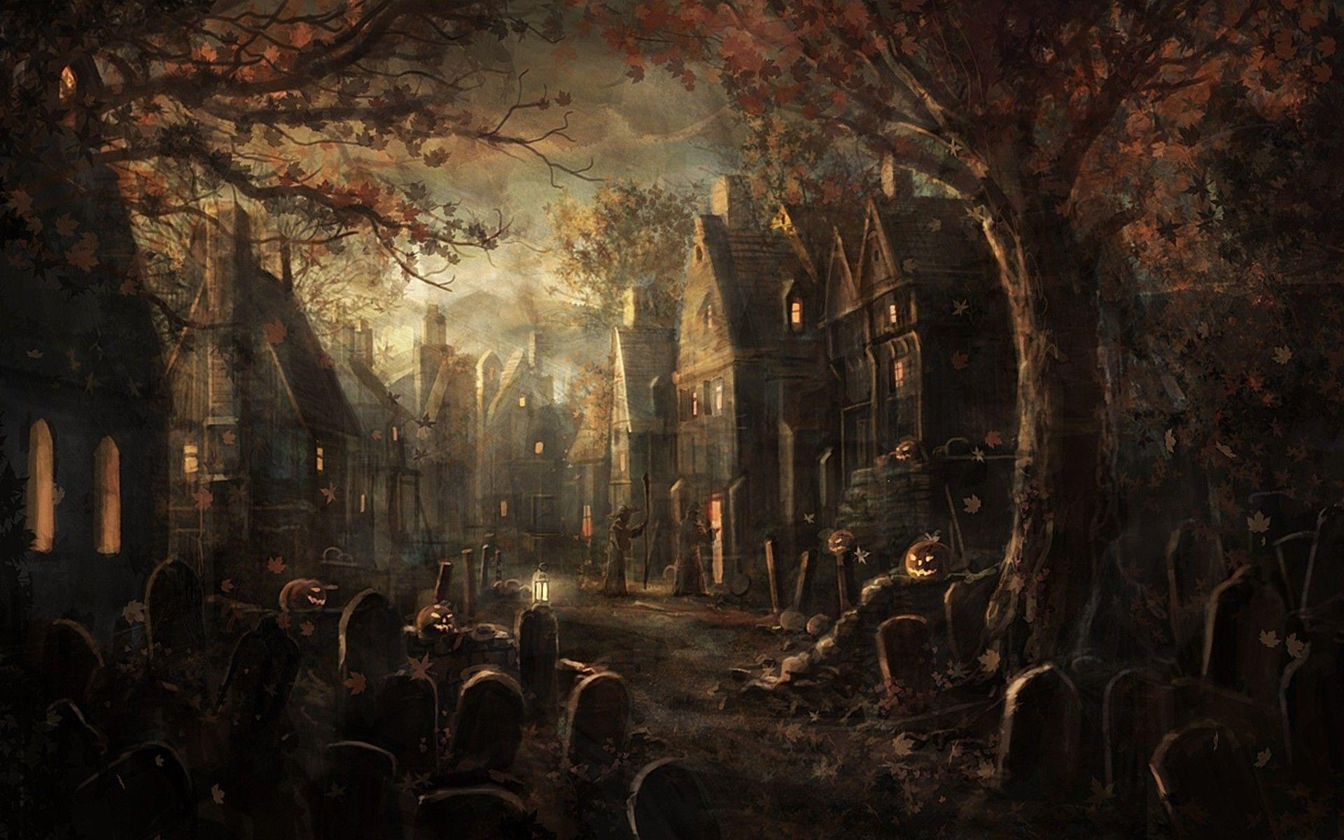 cemetery wallpaper night -#main