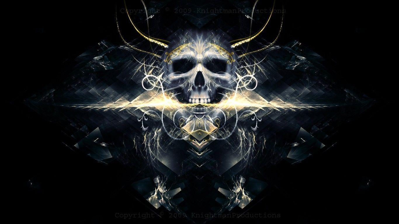 skull wallpaper wallpapers hd - photo #6