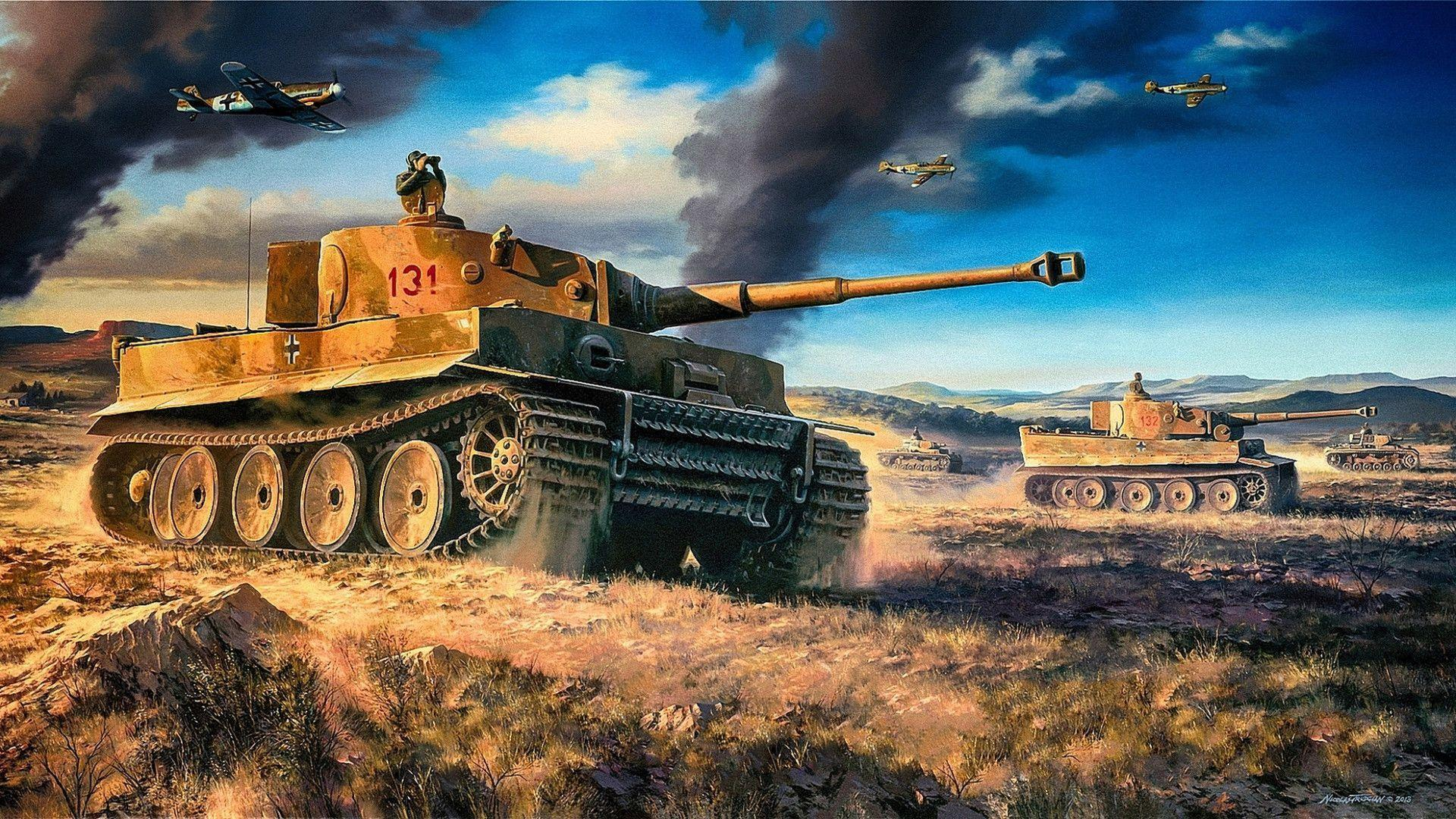 Battle Tanks Wallpaper