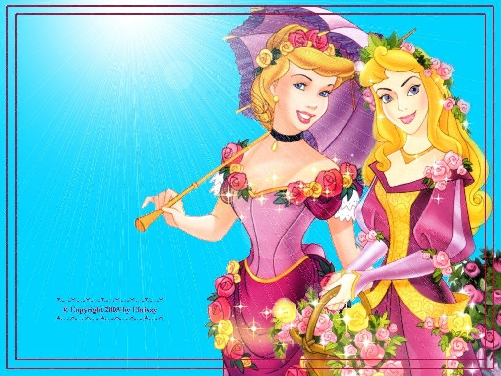 Sleeping Beauty and Cinderella Wallpapers