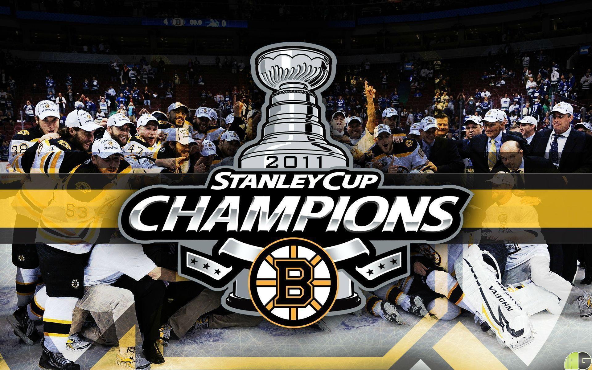 Stanley Cup Champions Boston Bruins 3 07 2011 Wallpaper 1920x1200 ...