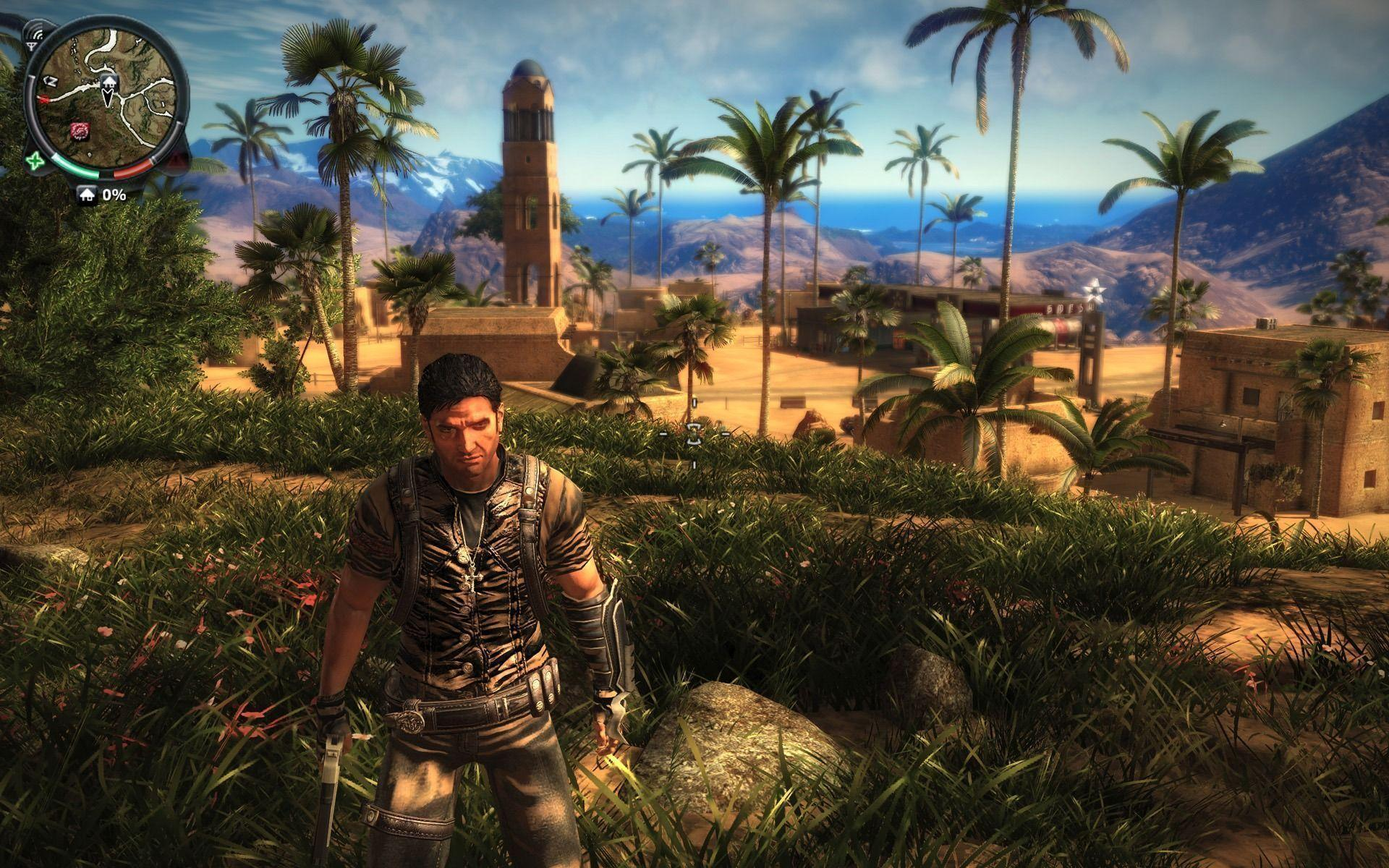 Just Cause 2 Wallpapers Bullet Scorpion