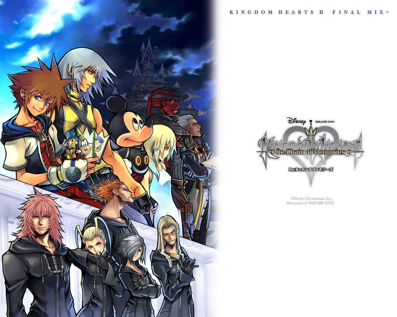 Kingdom Hearts Final Mix Wallpapers Wallpaper Cave
