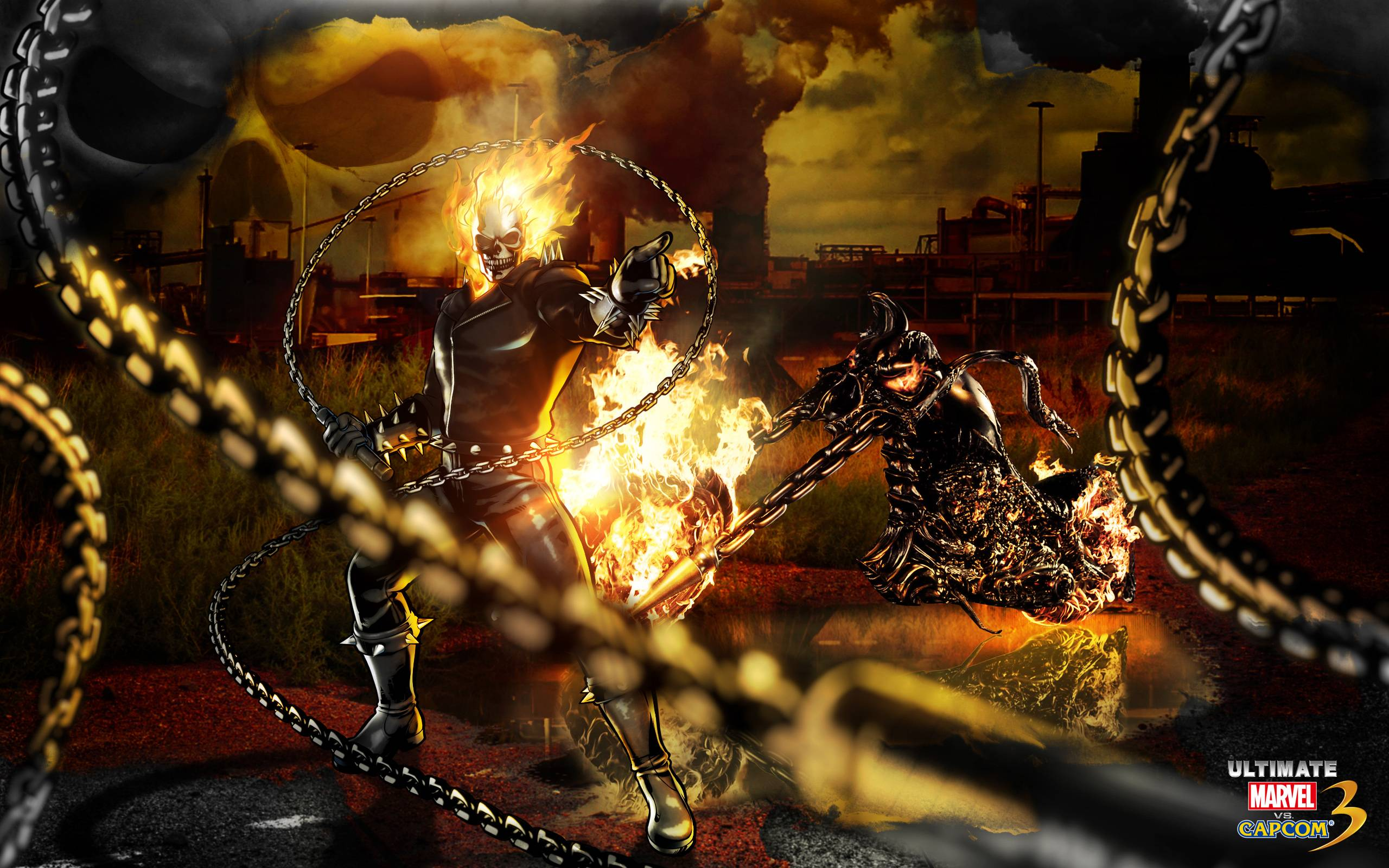 Ghost Rider Marvel Vs Capcom Wallpapers