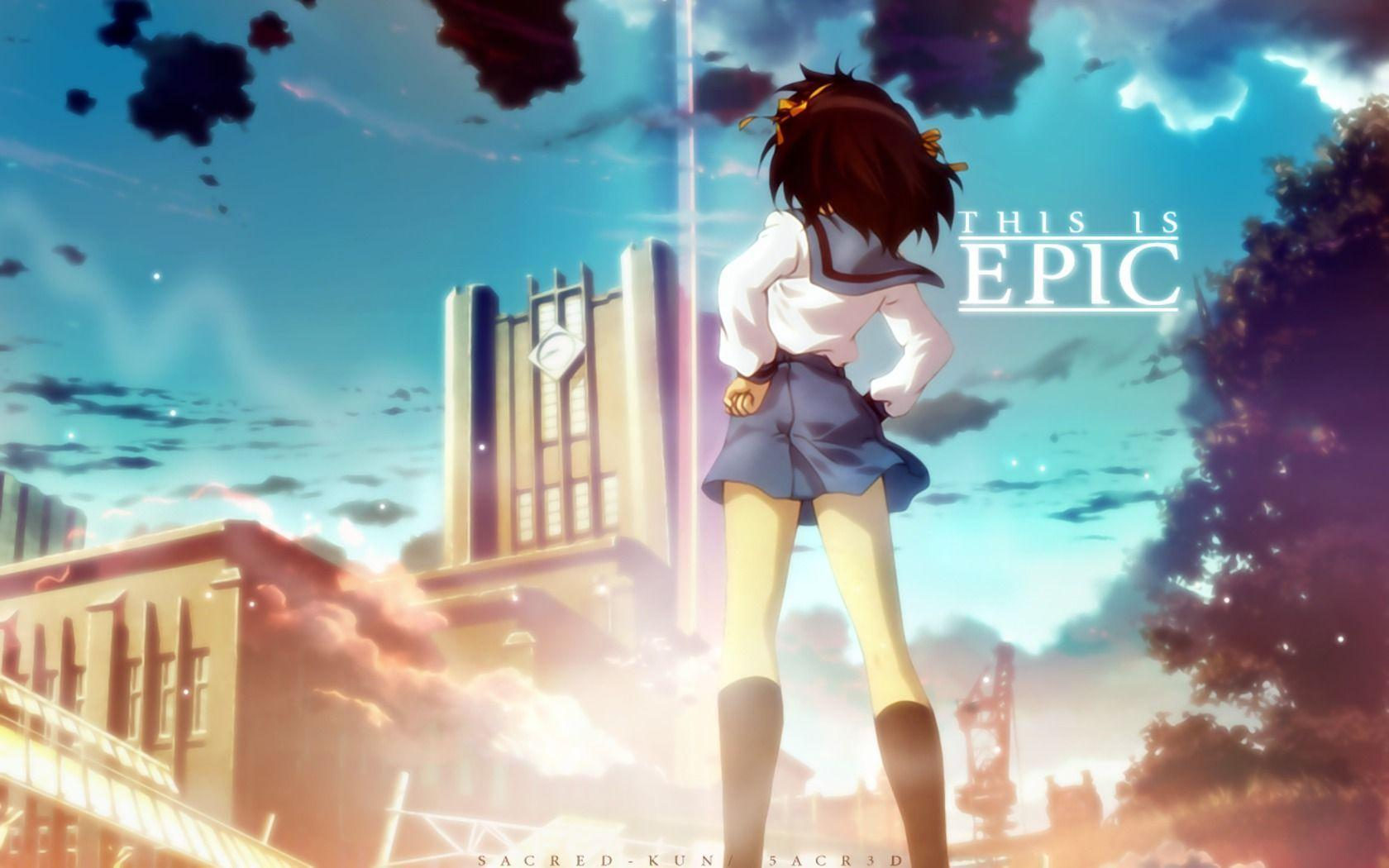 Anime The Melancholy Of Haruhi Suzumiya Wallpapers 1680x1050 px