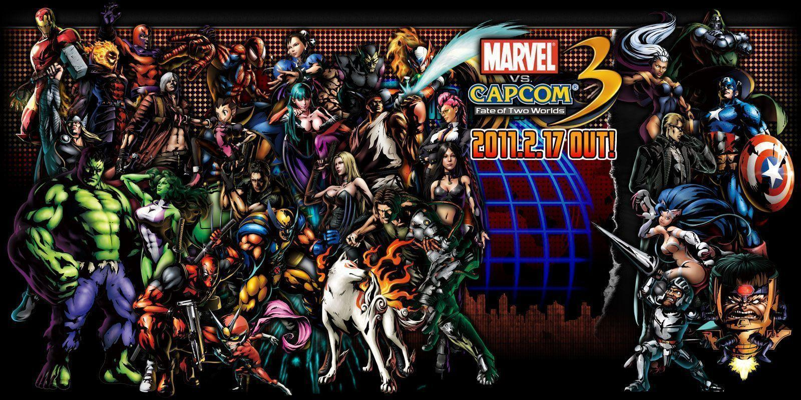 Wallpapers HD de Marvel y Capcom