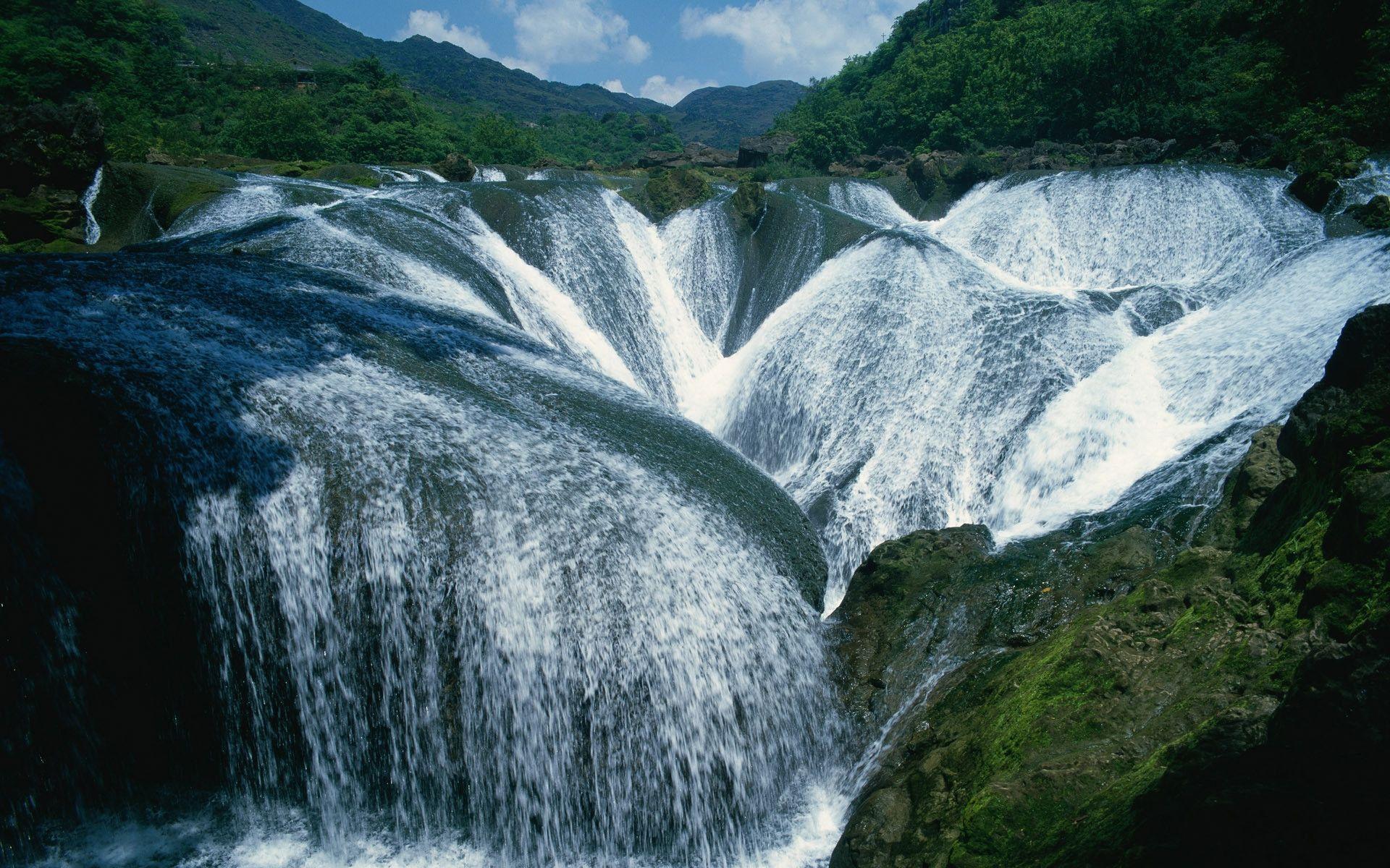 waterfall hd wallpaper waterfall desktop images cool wallpapers