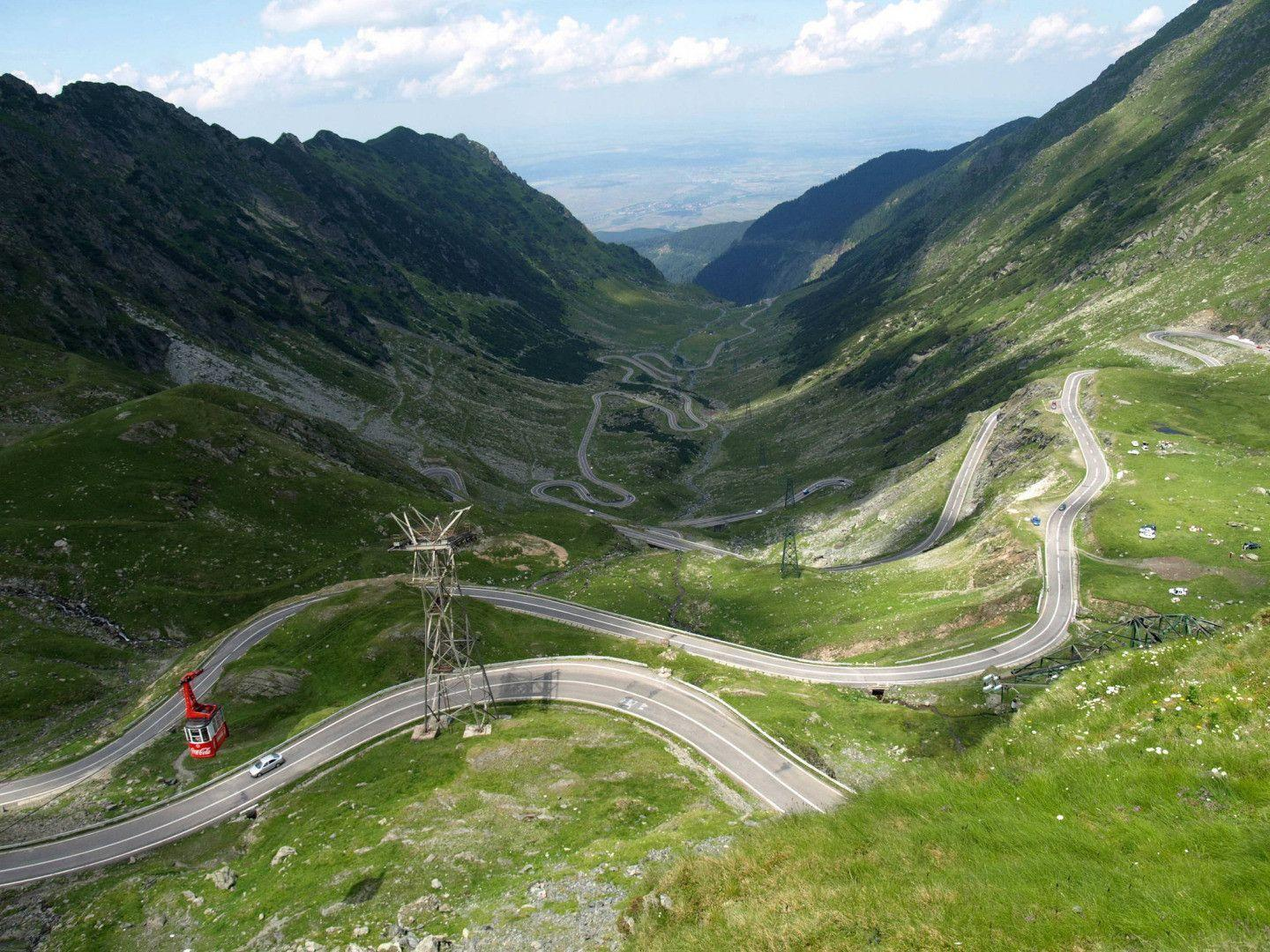 Transfagarasan Highway, Romania widescreen wallpapers
