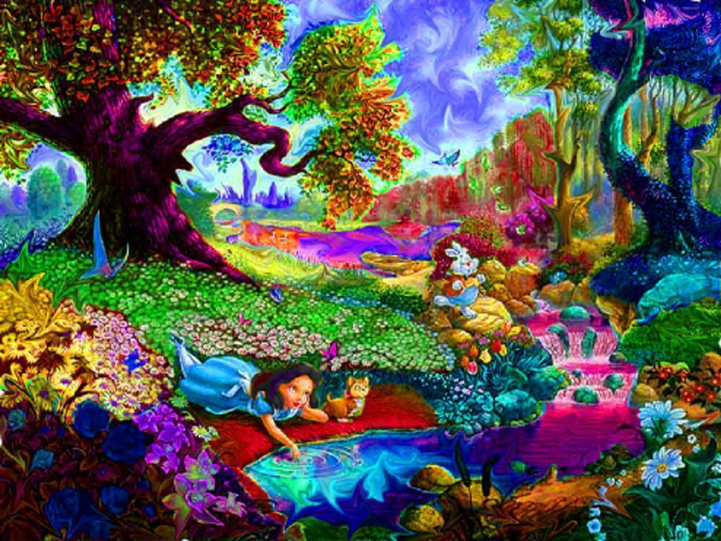 Trippy hd backgrounds wallpaper cave - Trippy weed backgrounds ...