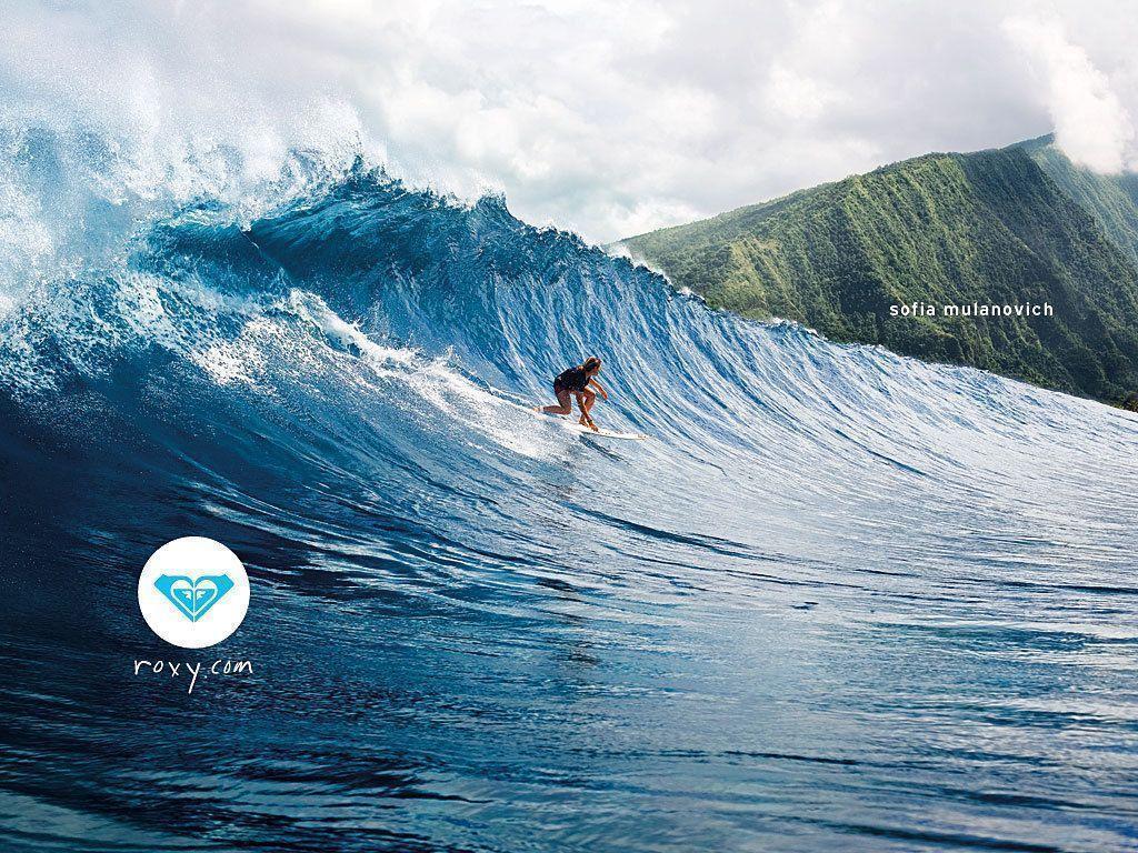 winter surfing roxy wallpaper - photo #4