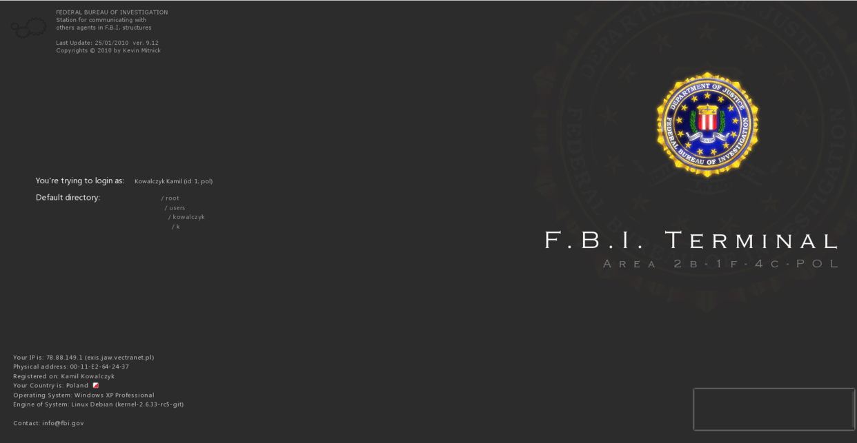 New Federal Bureau of Investigation Wallpapers
