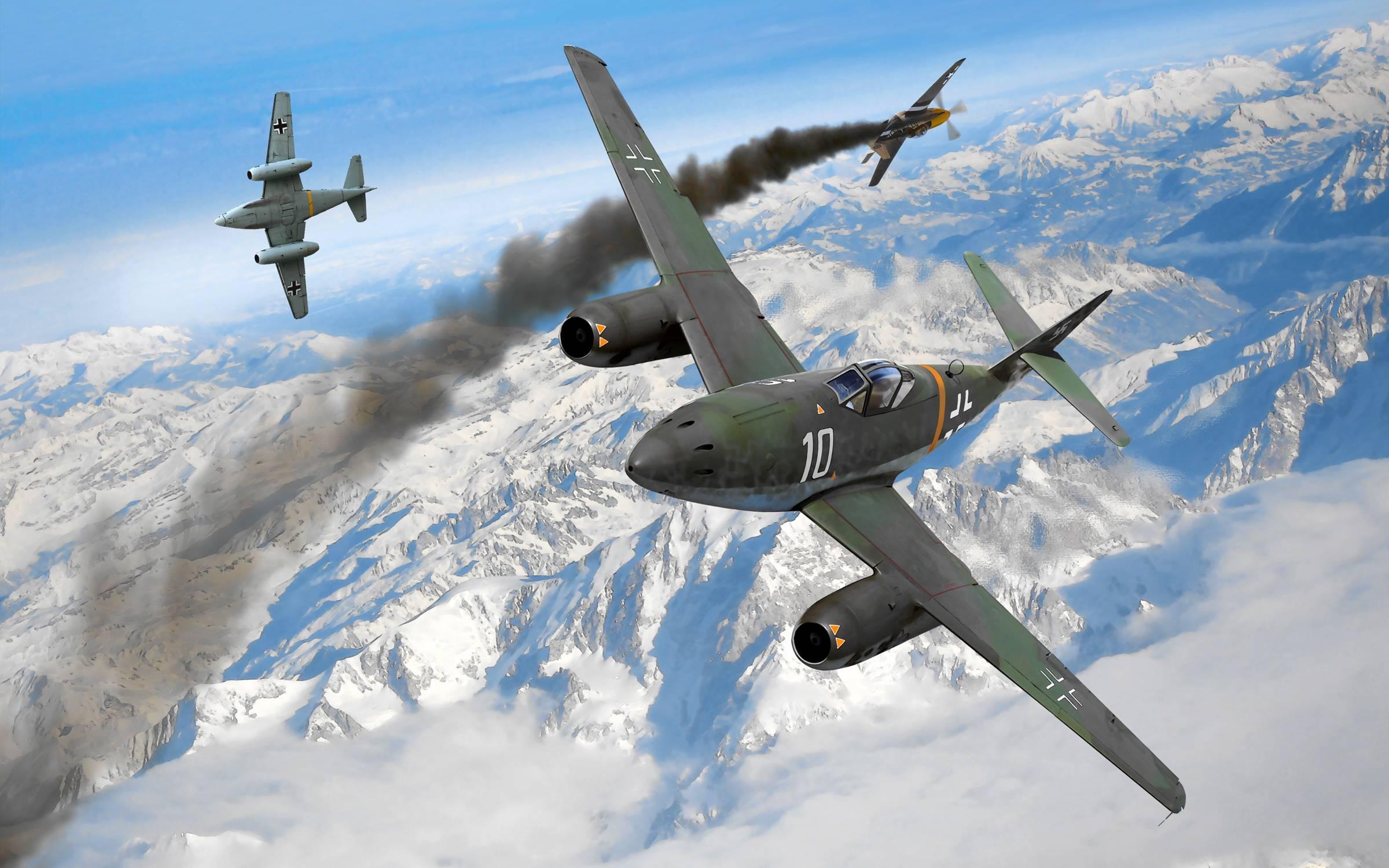 Messerschmitt Me 262 Wallpapers - Wallpaper Cave