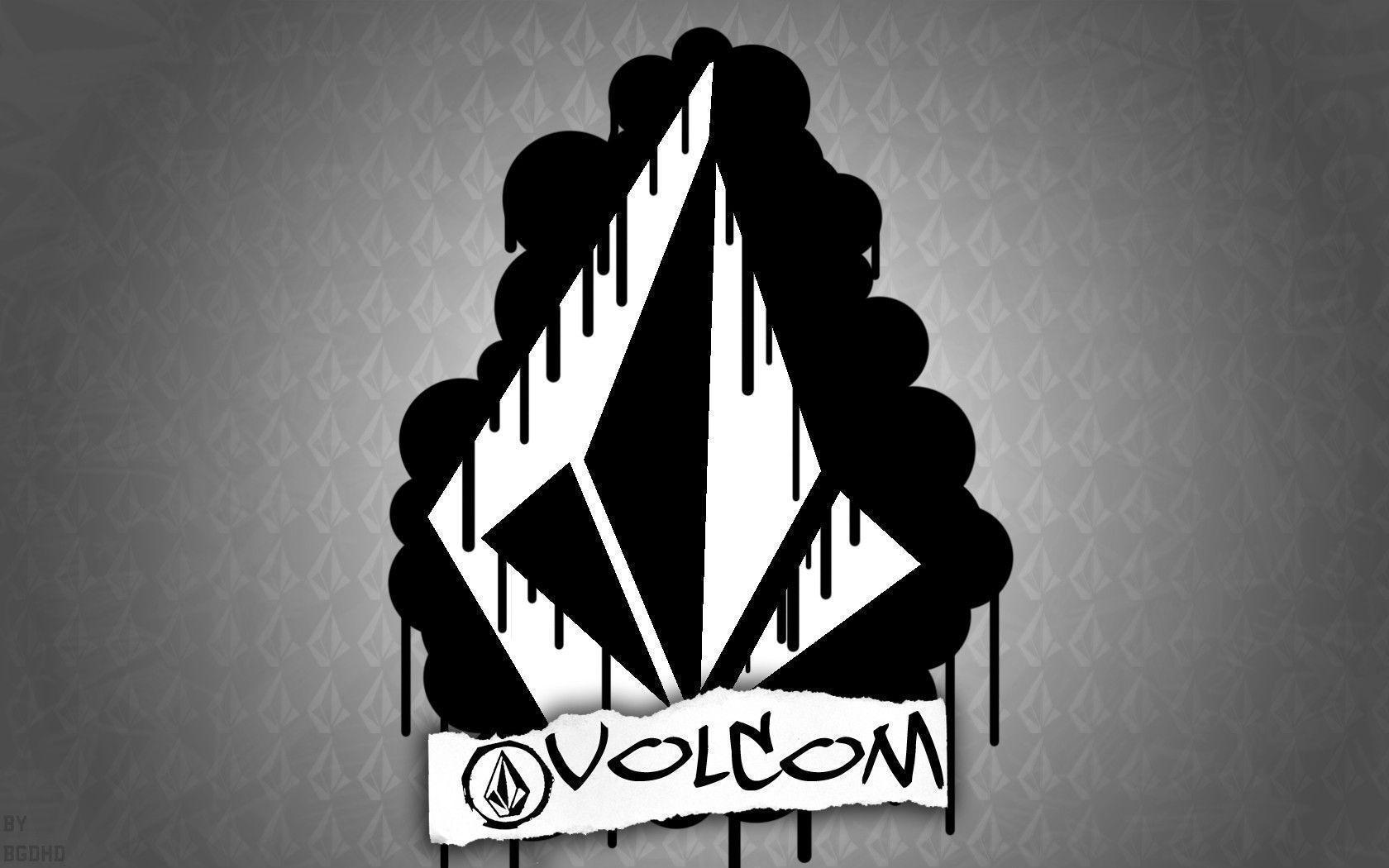 volcom logo wallpapers wallpaper cave