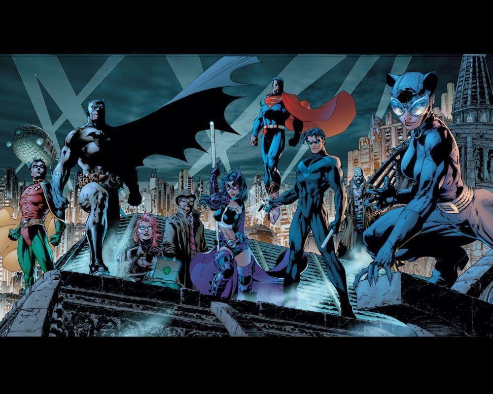 Batman Hush Wallpapers - Wallpaper Cave