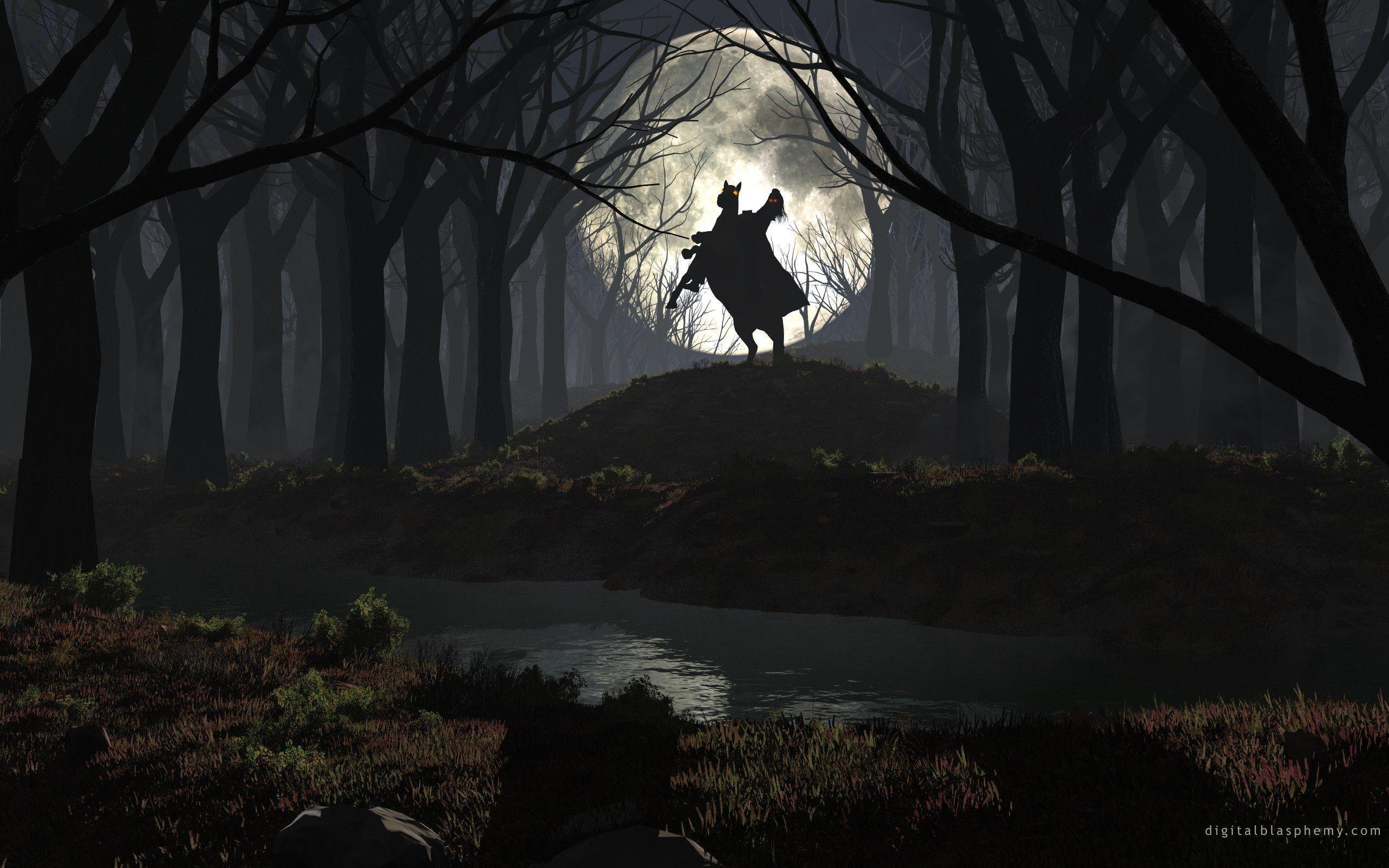 Related Pictures Wallpapers Headless Horseman Halloween Hd
