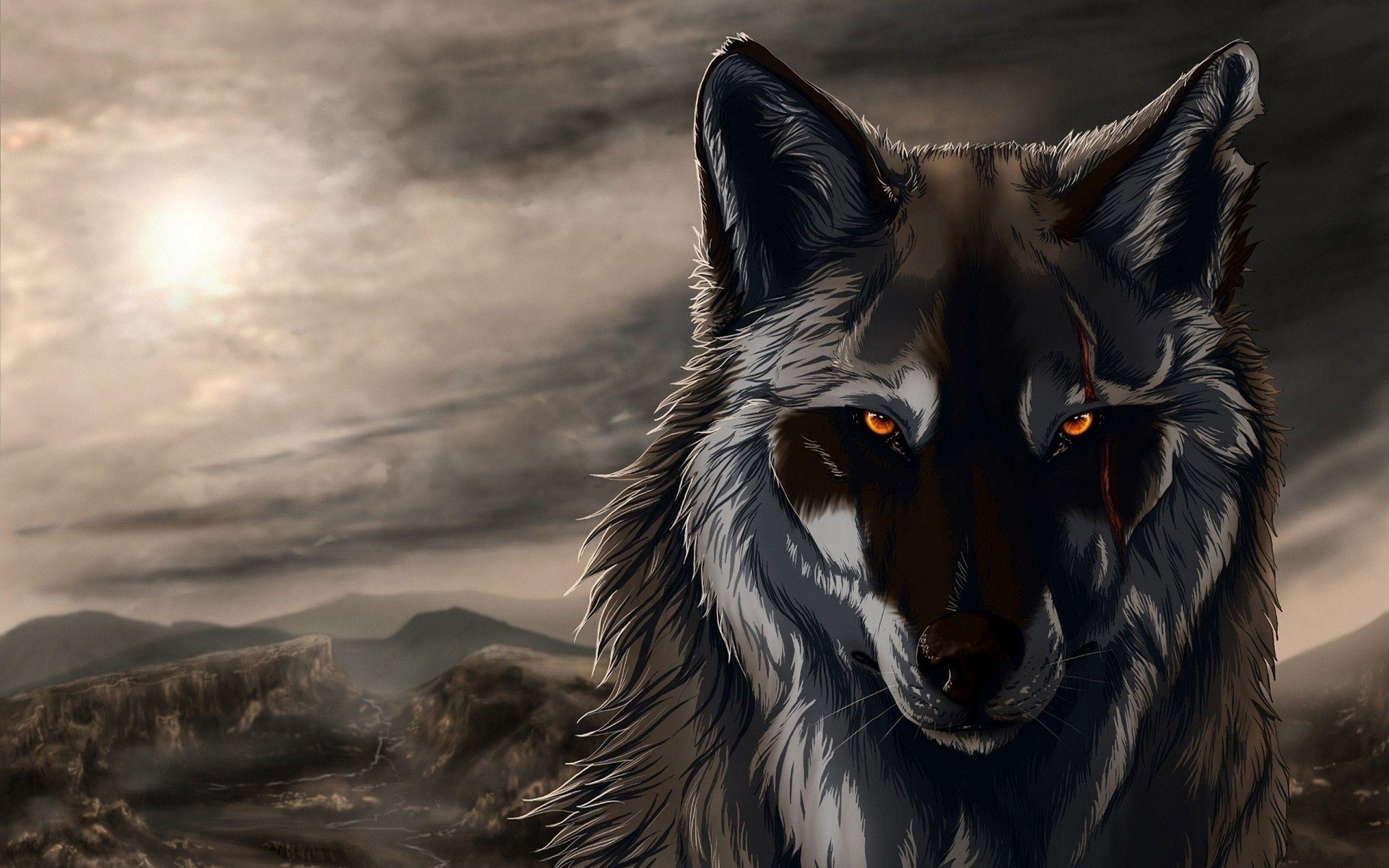Anime Wolf Wallpapers Wallpaper Cave