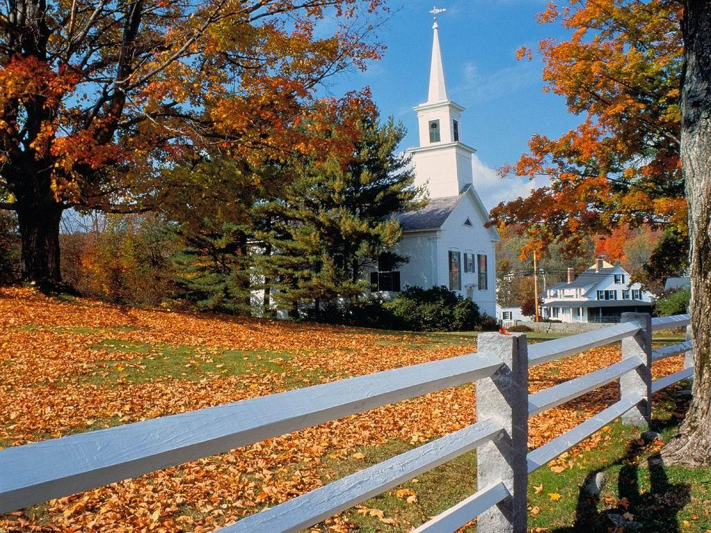 new england fall wallpaper